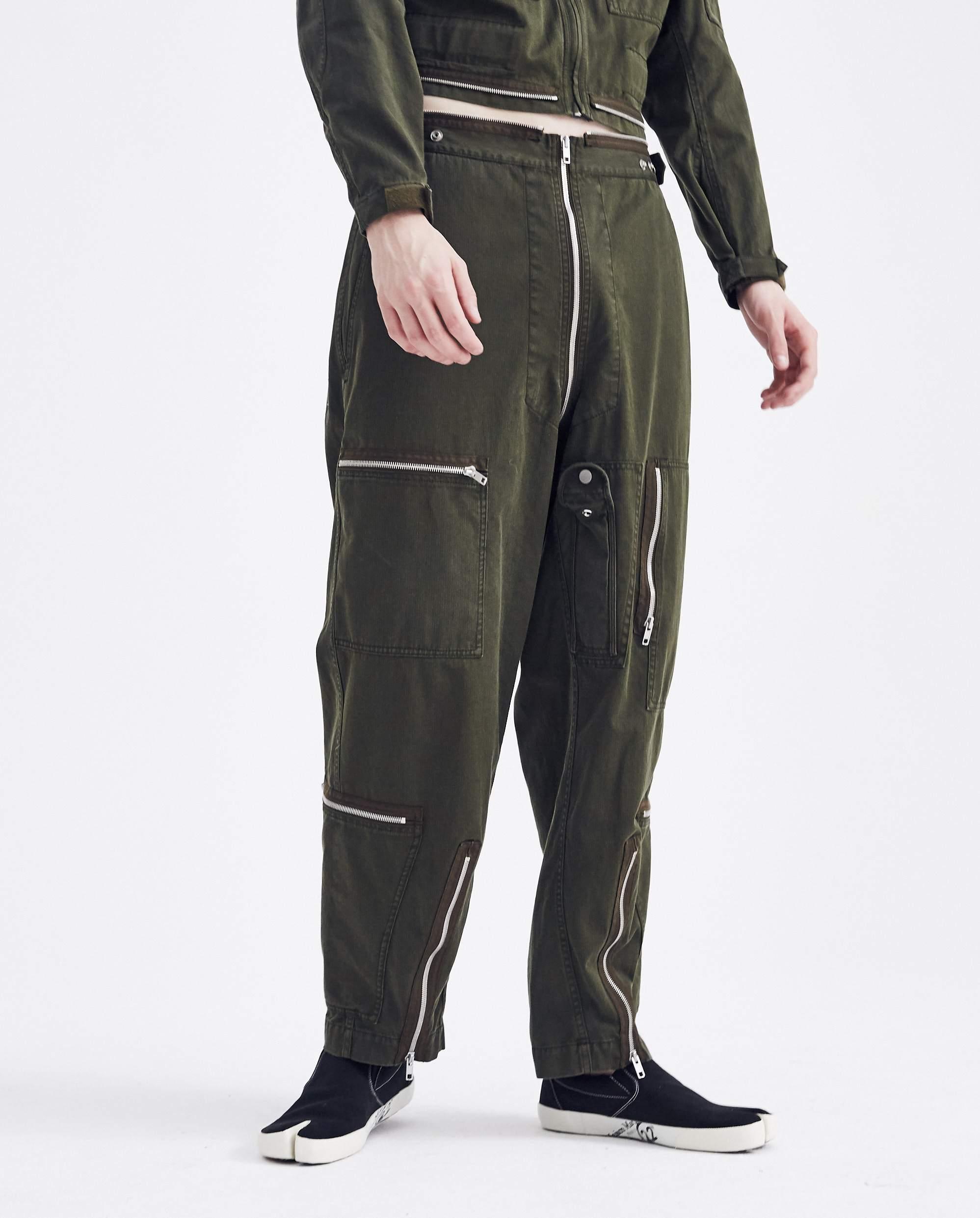 2a02a212119b Lyst - Maison Margiela Flight Jumpsuit Pants in Black for Men