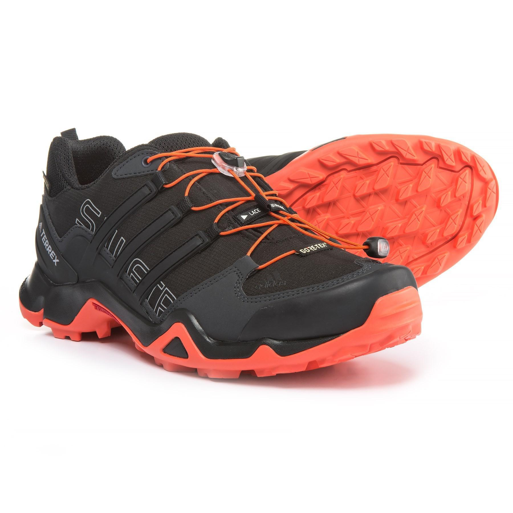 997fec8fb Adidas Black Terrex Swift R Gore-tex® Xcr® Trail Running Shoes for men