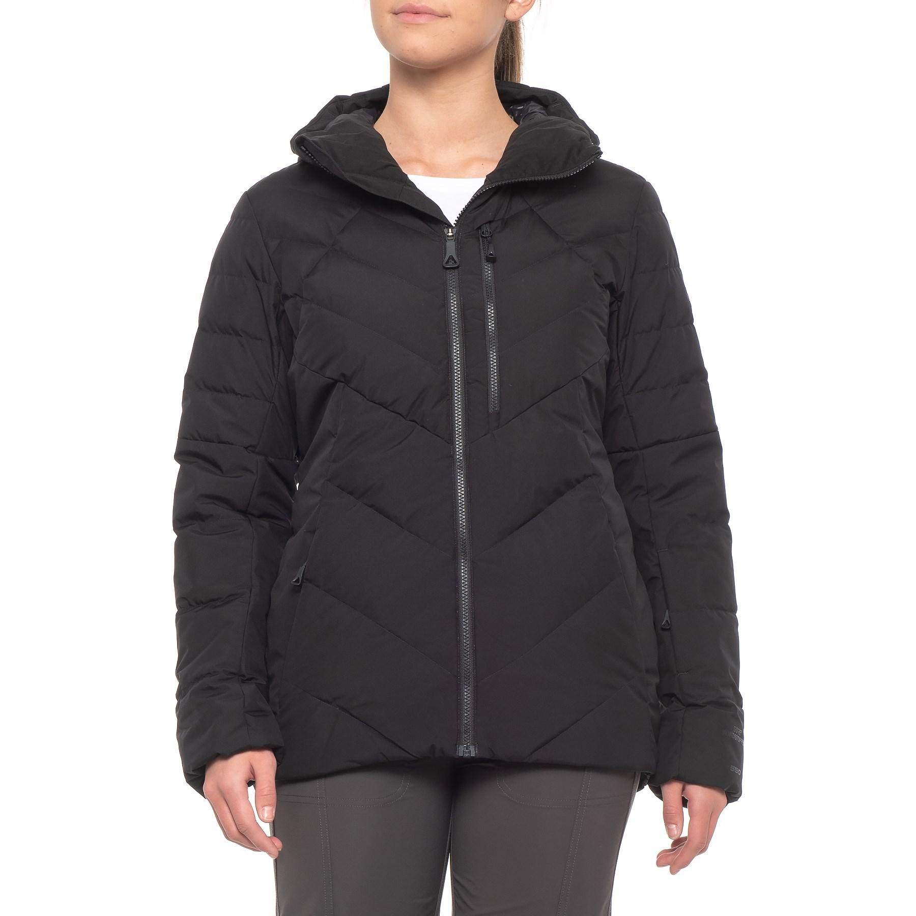 e6362810a The North Face Black Corefire Windstopper® Hooded Down Ski Jacket (for  Women)