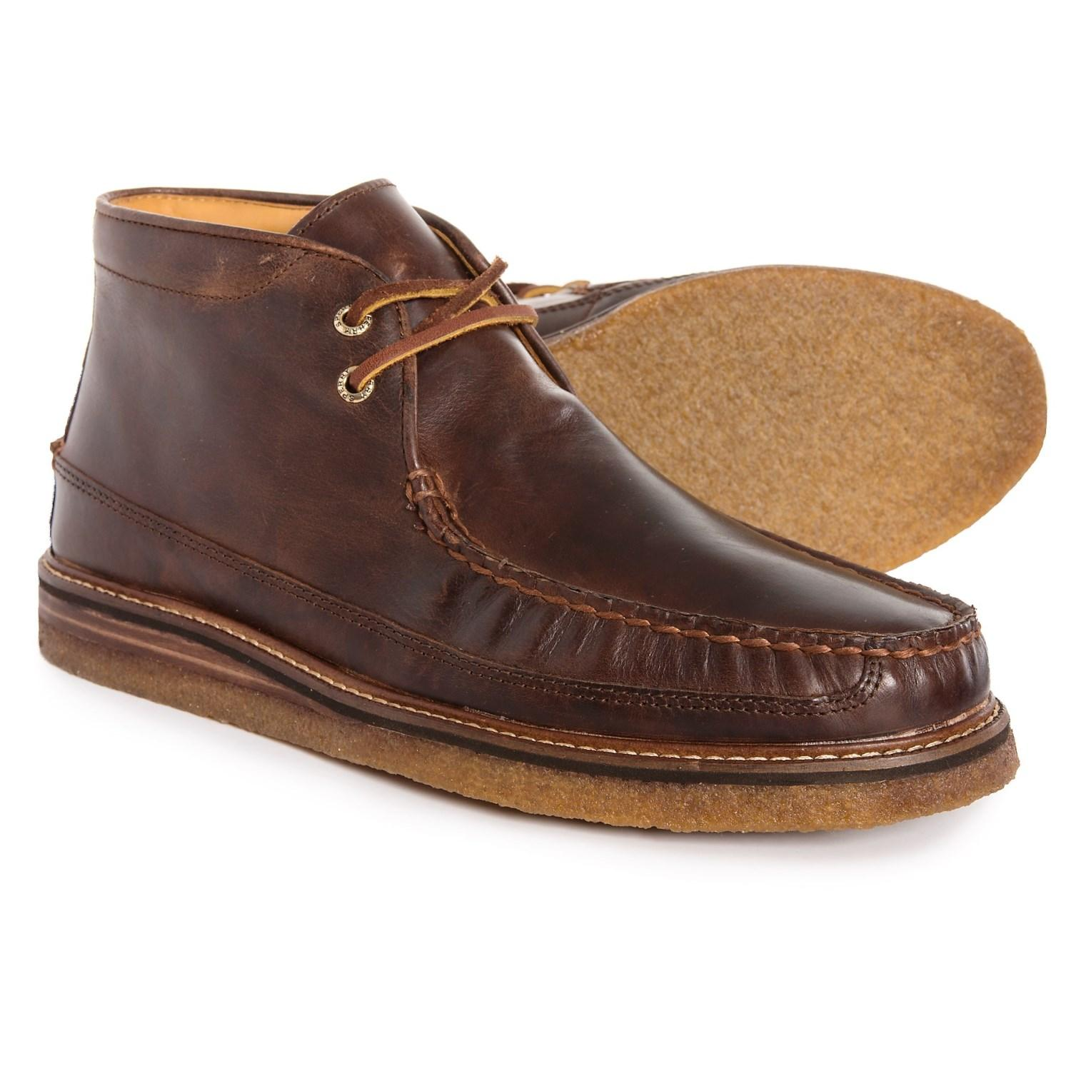 Gold Cup Crepe Chukka Boots