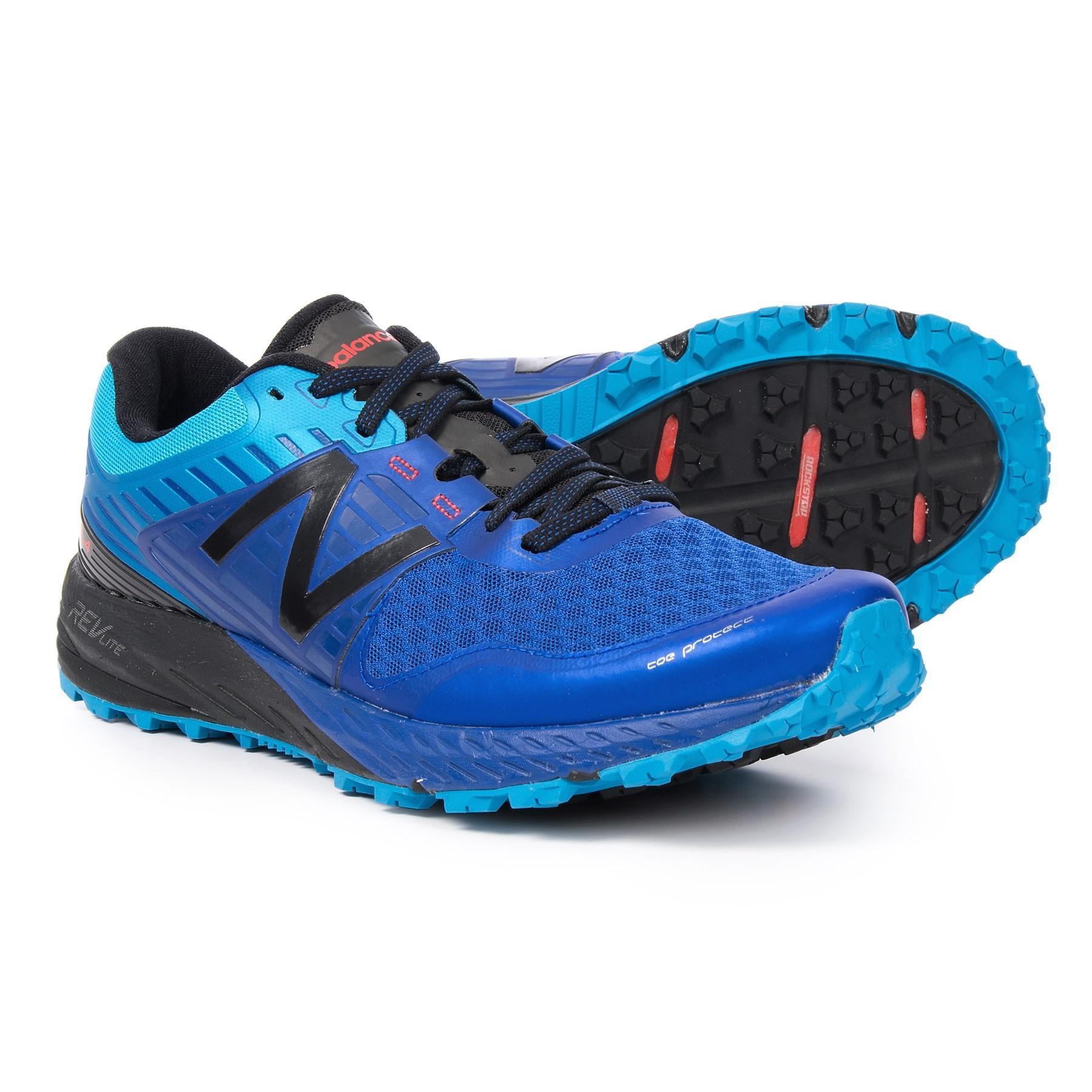 New Balance Blue 910v4 Trail Running Shoes (for Men) for men