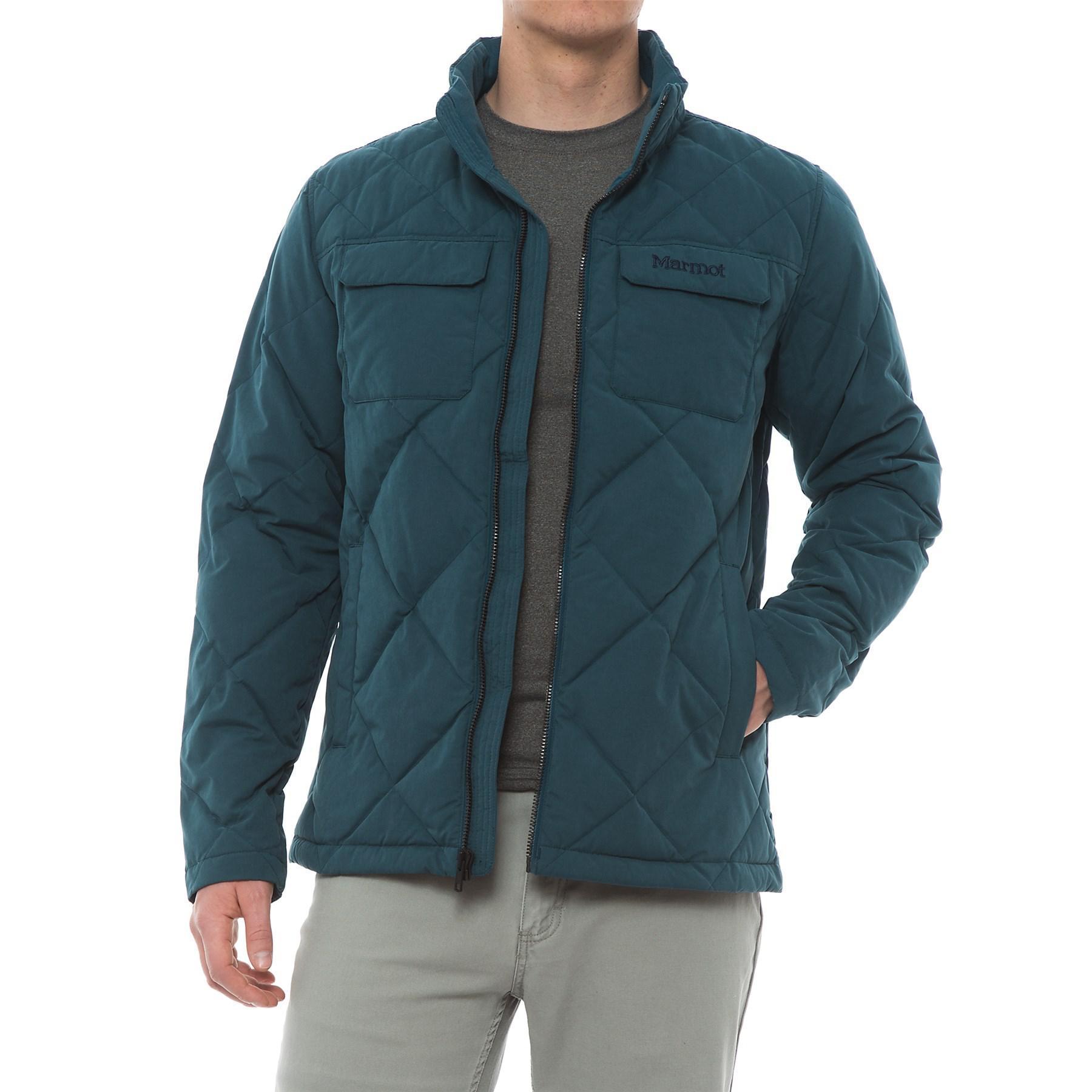 Lyst - Marmot Burdell Down Jacket in Blue for Men bbc40b11fe