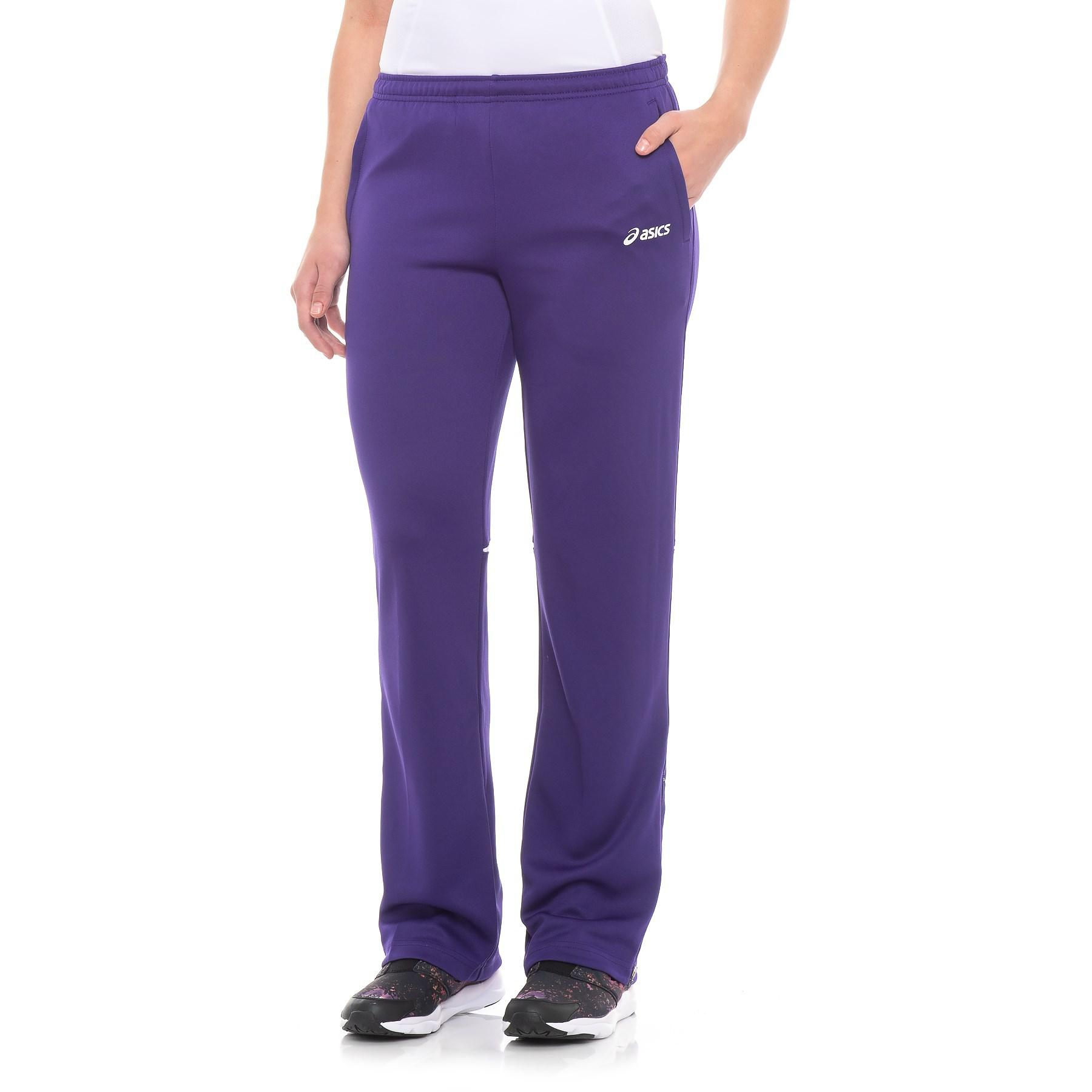 a68fc4a1d61f Lyst - Asics Cali Pants (for Women) in Purple
