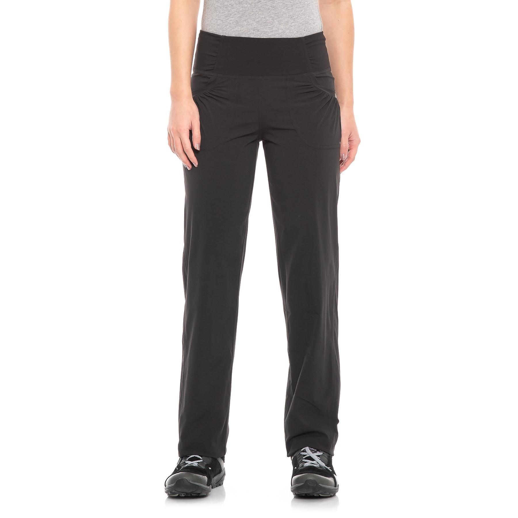 f015b1ecbfa2 Lyst - Prana Summit Stretch Woven Pants (for Women) in Black