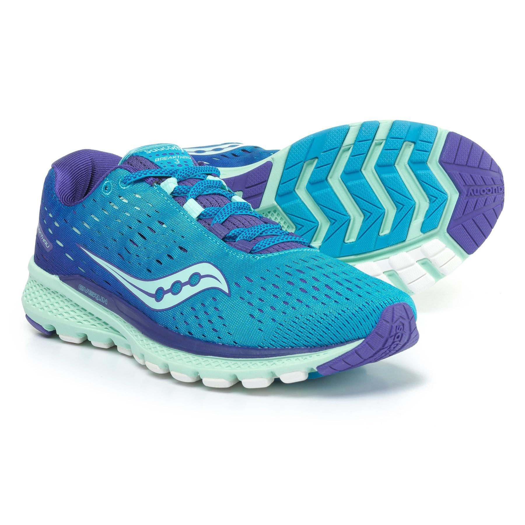 Saucony Blue Breakthru 3 Running Shoes (for Women)
