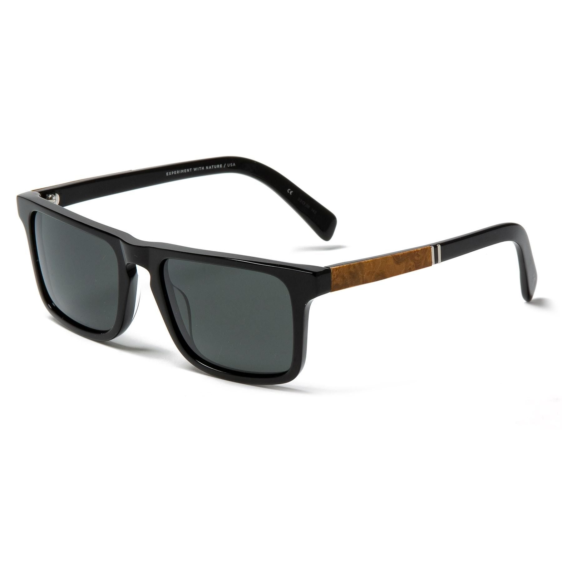 9d8f25175c Lyst - Shwood Govy 2 Sunglasses in Black
