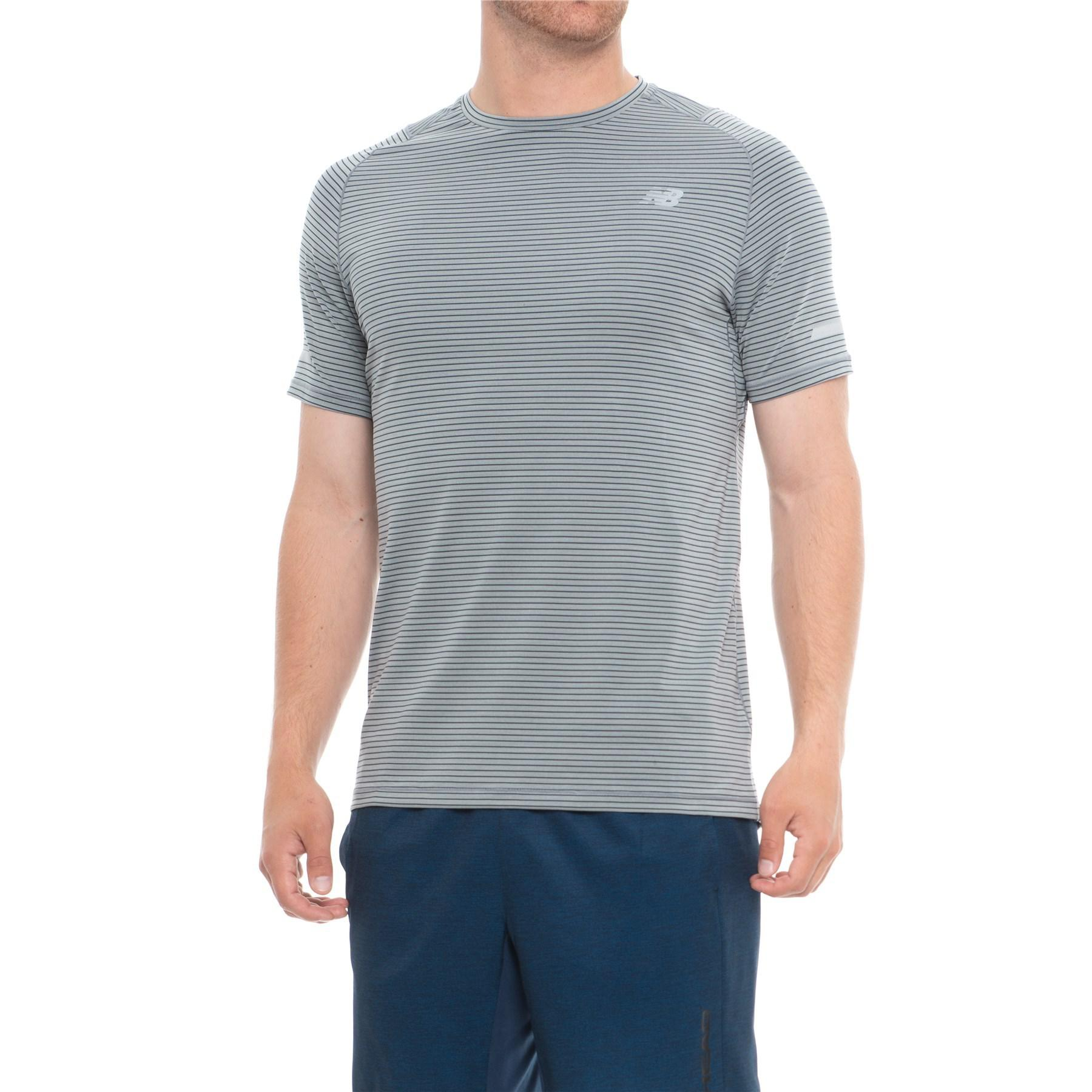 744584a449 New Balance Seasonless T-shirt in Gray for Men - Lyst