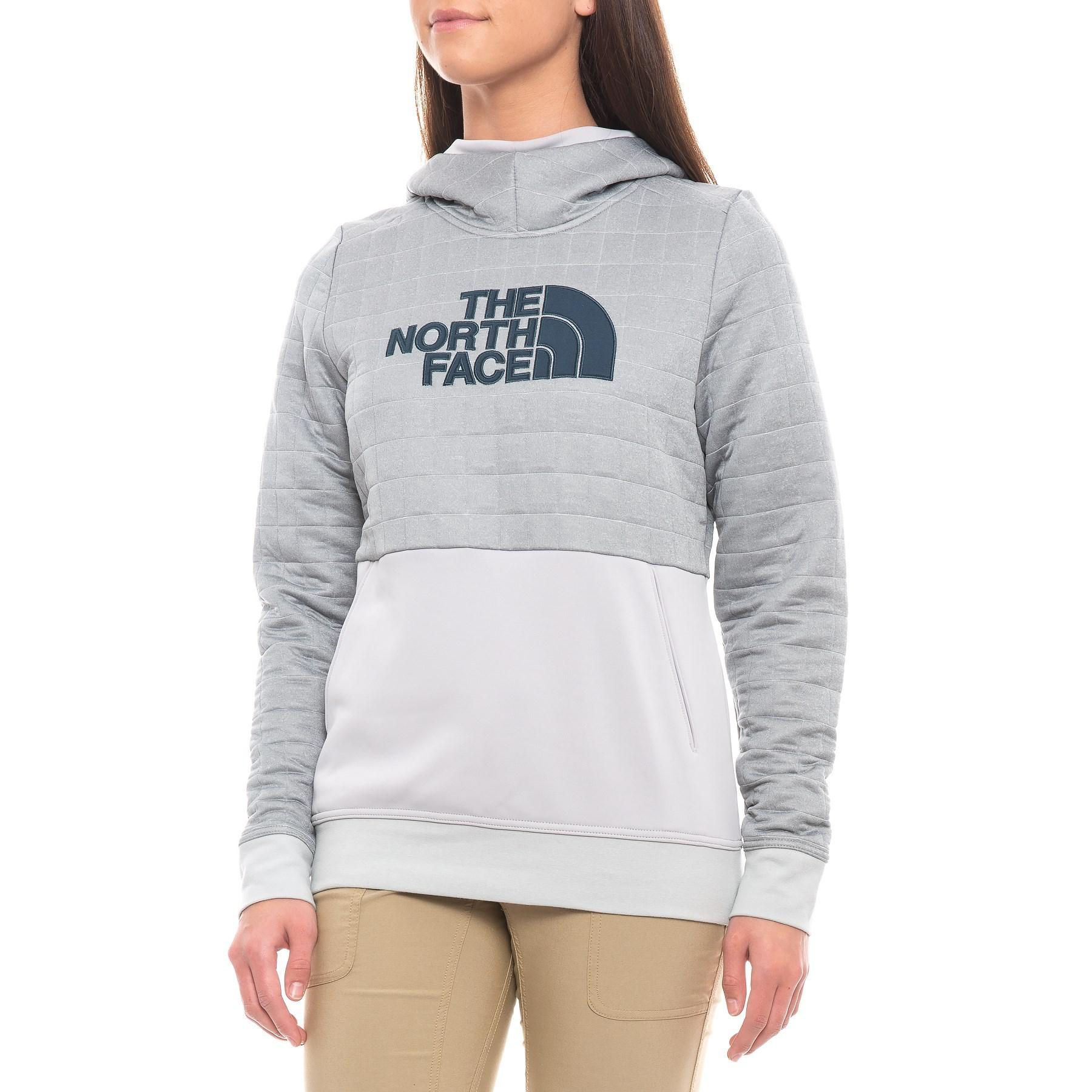 95c07f2e0 The North Face Gray Half Dome Quilted Pullover Hoodie