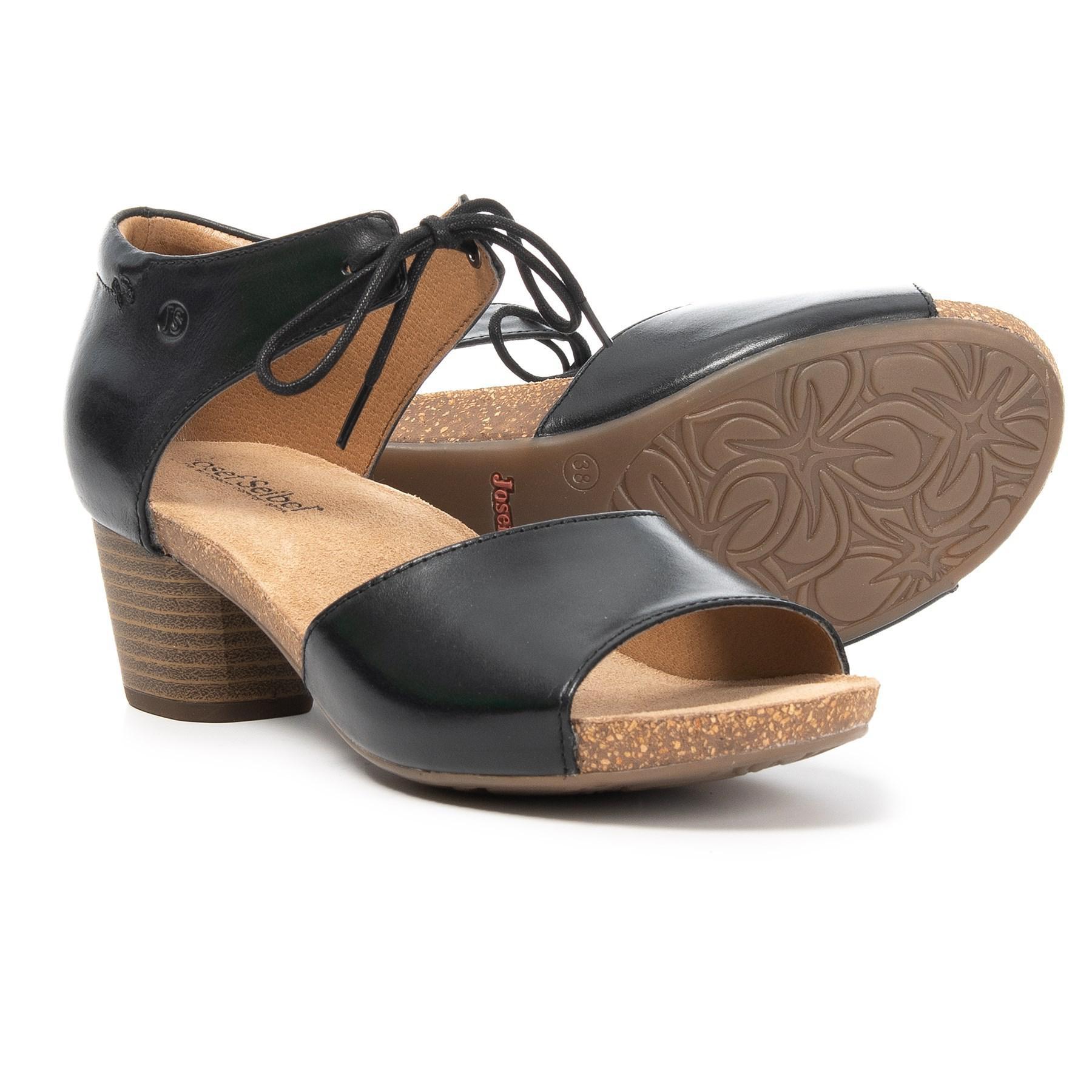 aff3ae1252b5 Lyst - Josef Seibel Rose 23 Open-toe Sandals in Black