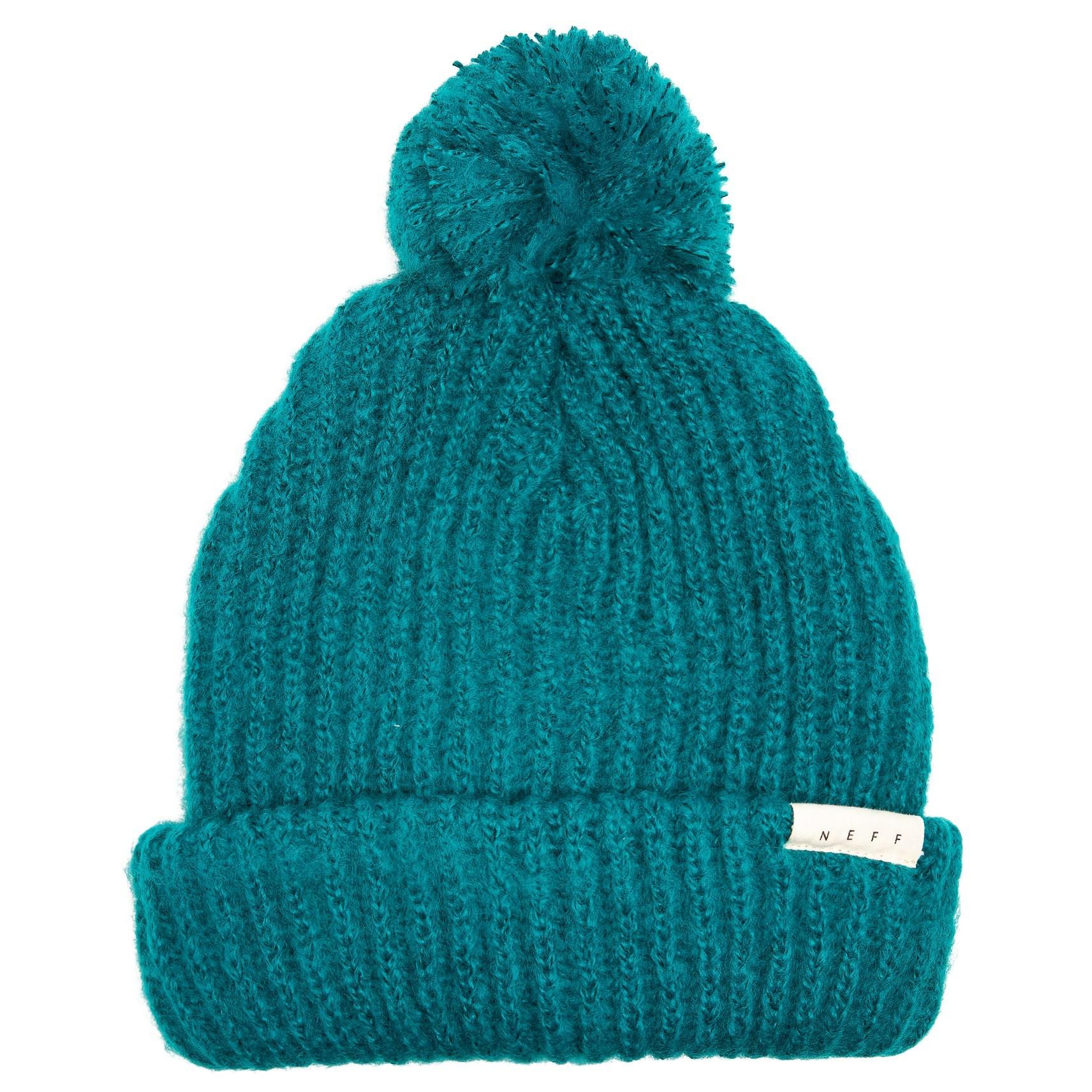 55b5700ab28 Lyst - Neff Muffin Beanie With Pom (for Women) in Blue