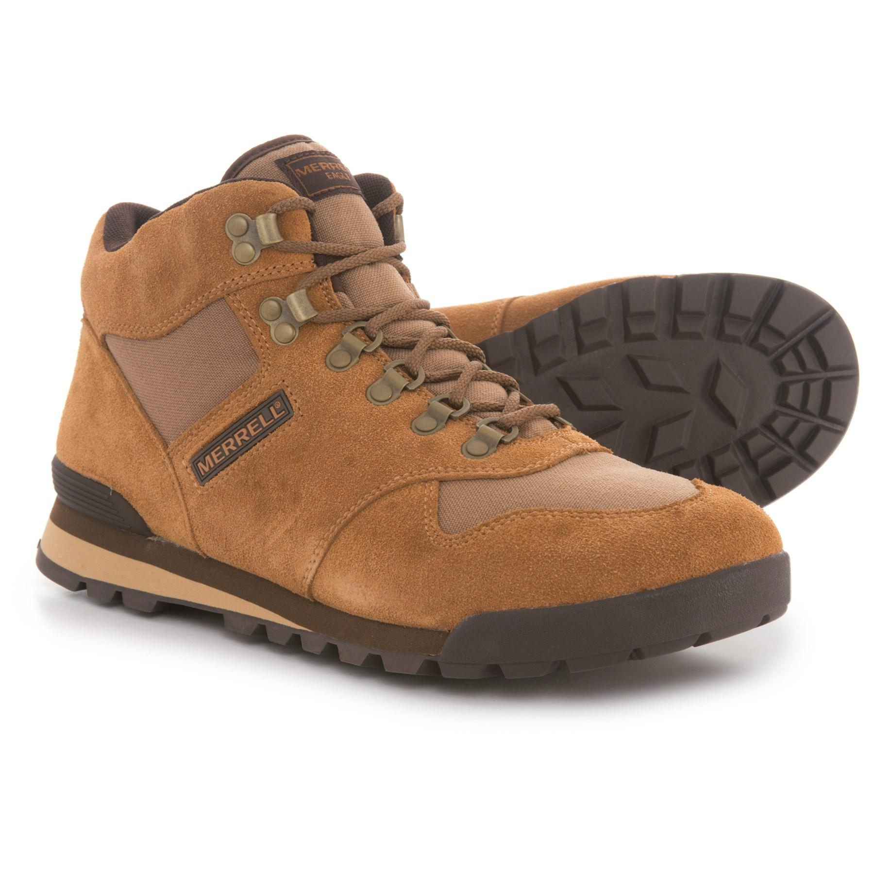 Merrell Suede Eagle Boots in Brown for