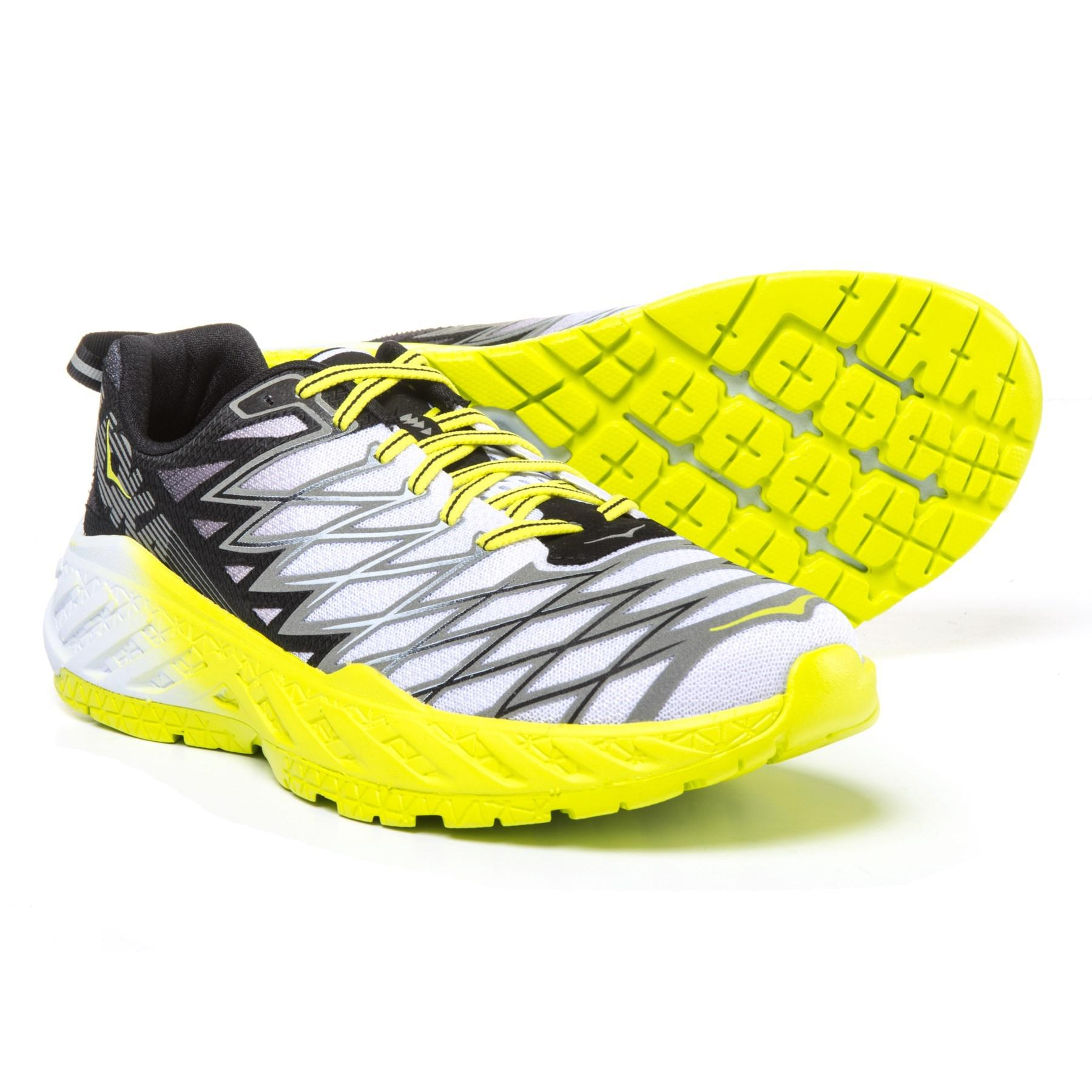 0166aa6e61b Lyst - Hoka One One Clayton 2 Running Shoes (for Men) in Yellow for Men