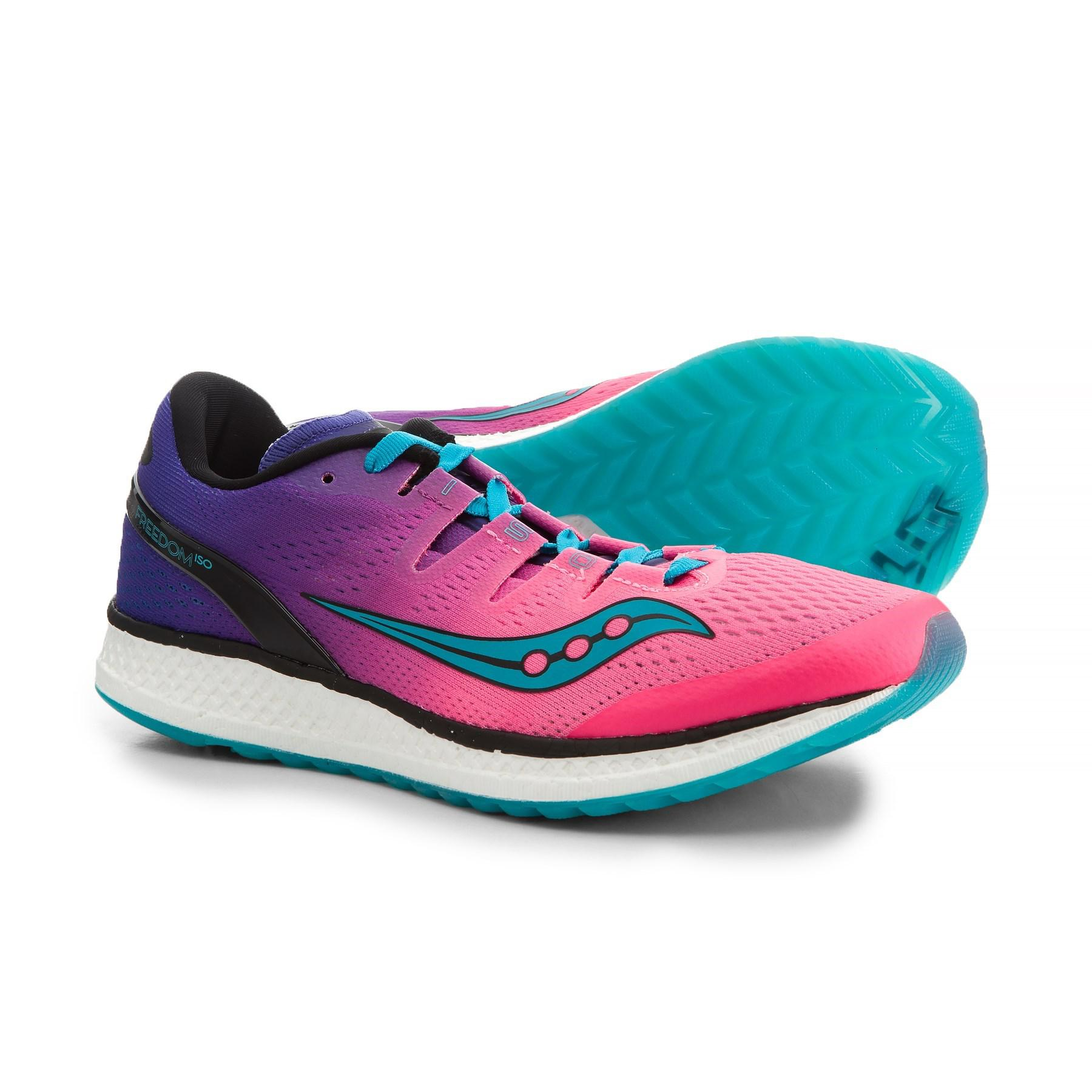 8fd08d7451e6 Lyst - Saucony Freedom Iso Running Shoes (for Women)