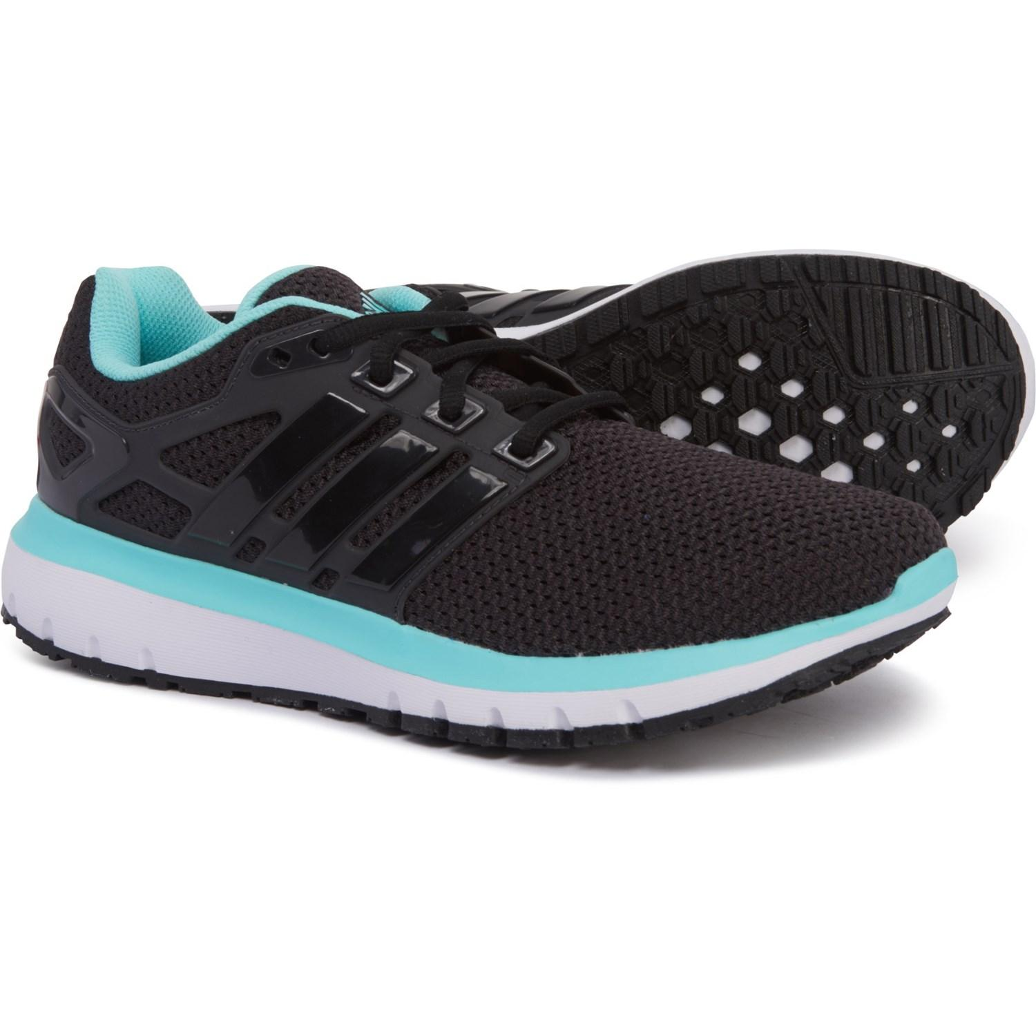 designer fashion sports shoes official photos adidas Synthetic Energy Cloud Wtc Running Shoes in Black/Teal ...