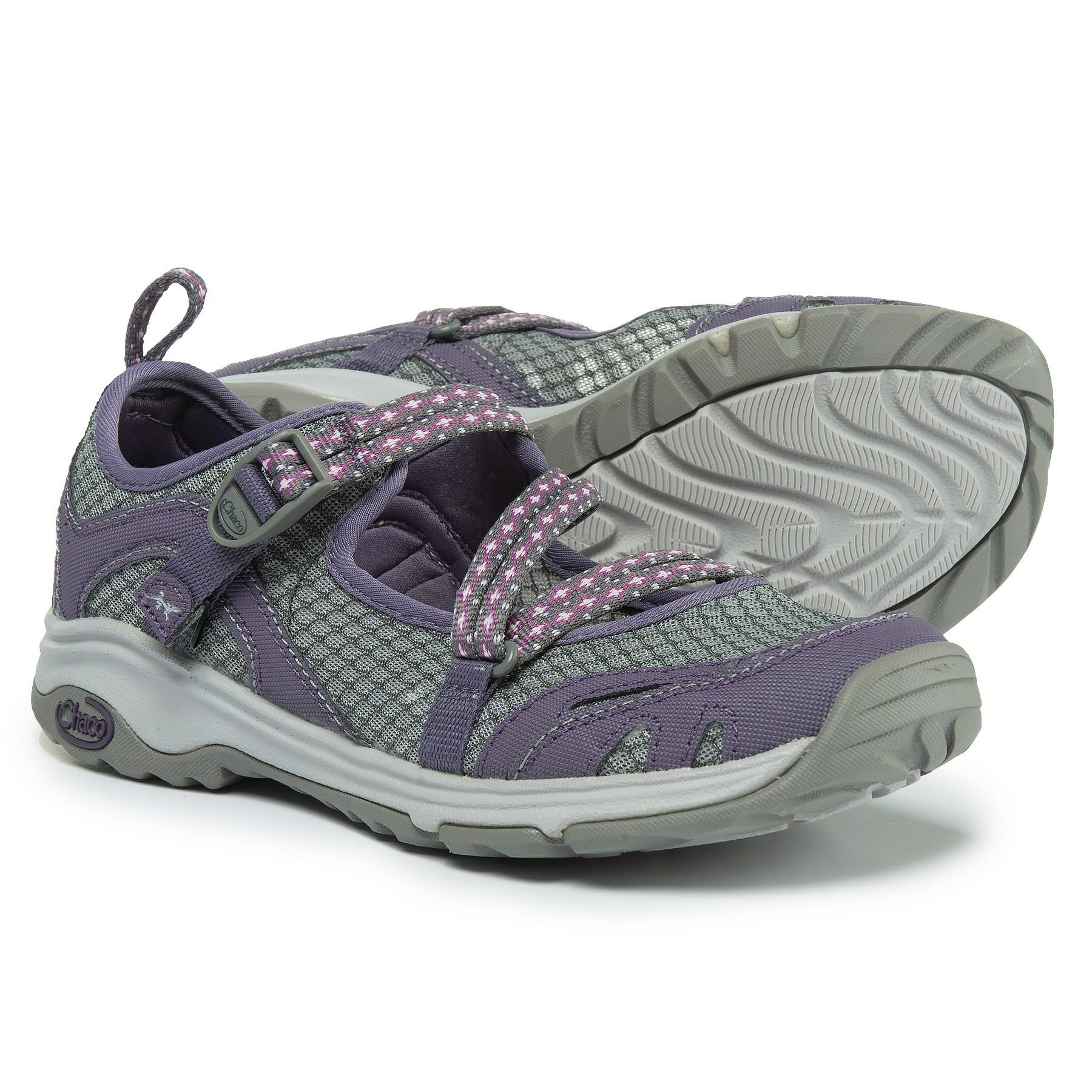 7a4316e7c6d8 Chaco - Gray Outcross Evo Mary Jane Water Shoes (for Women) - Lyst. View  fullscreen