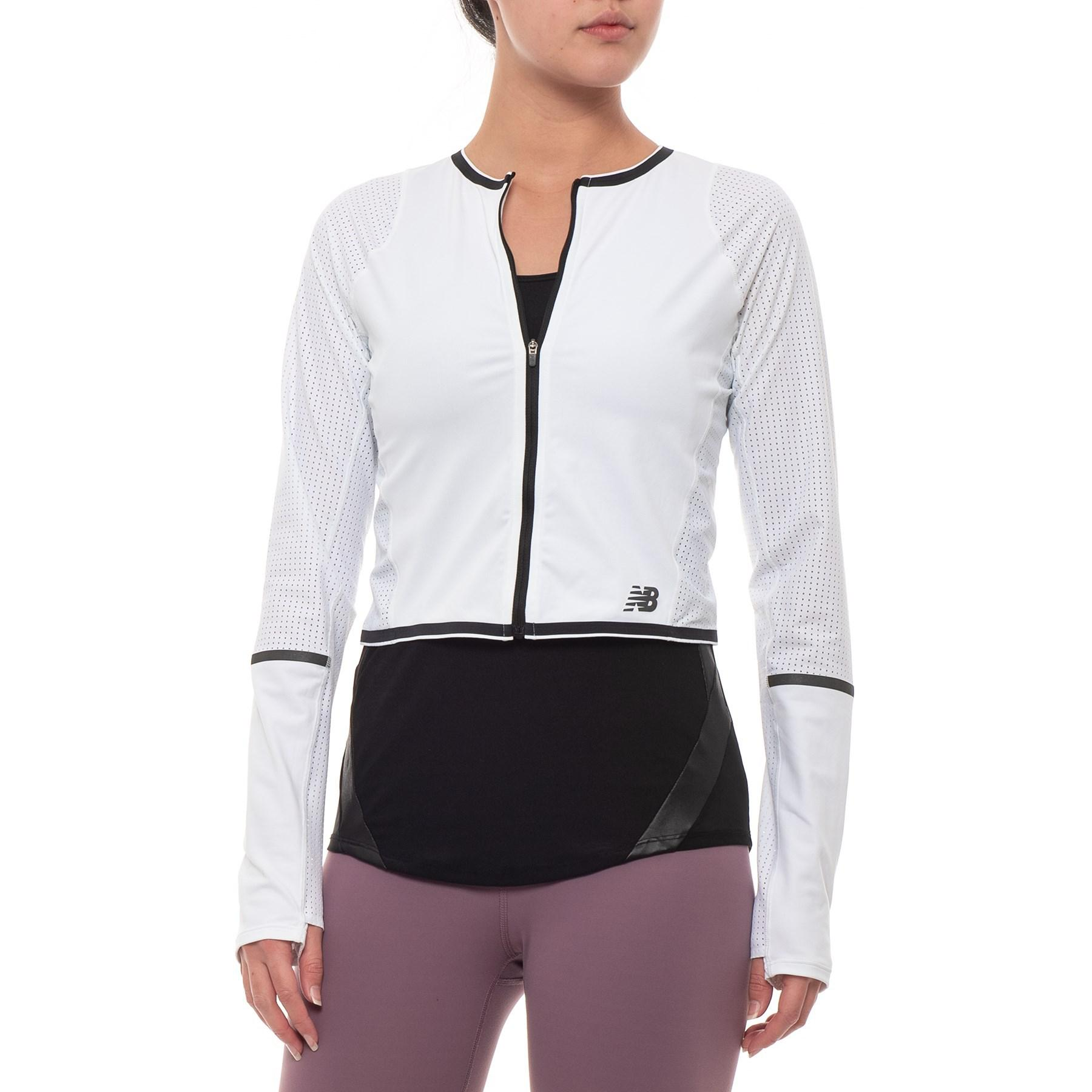 new balance running jacket women's