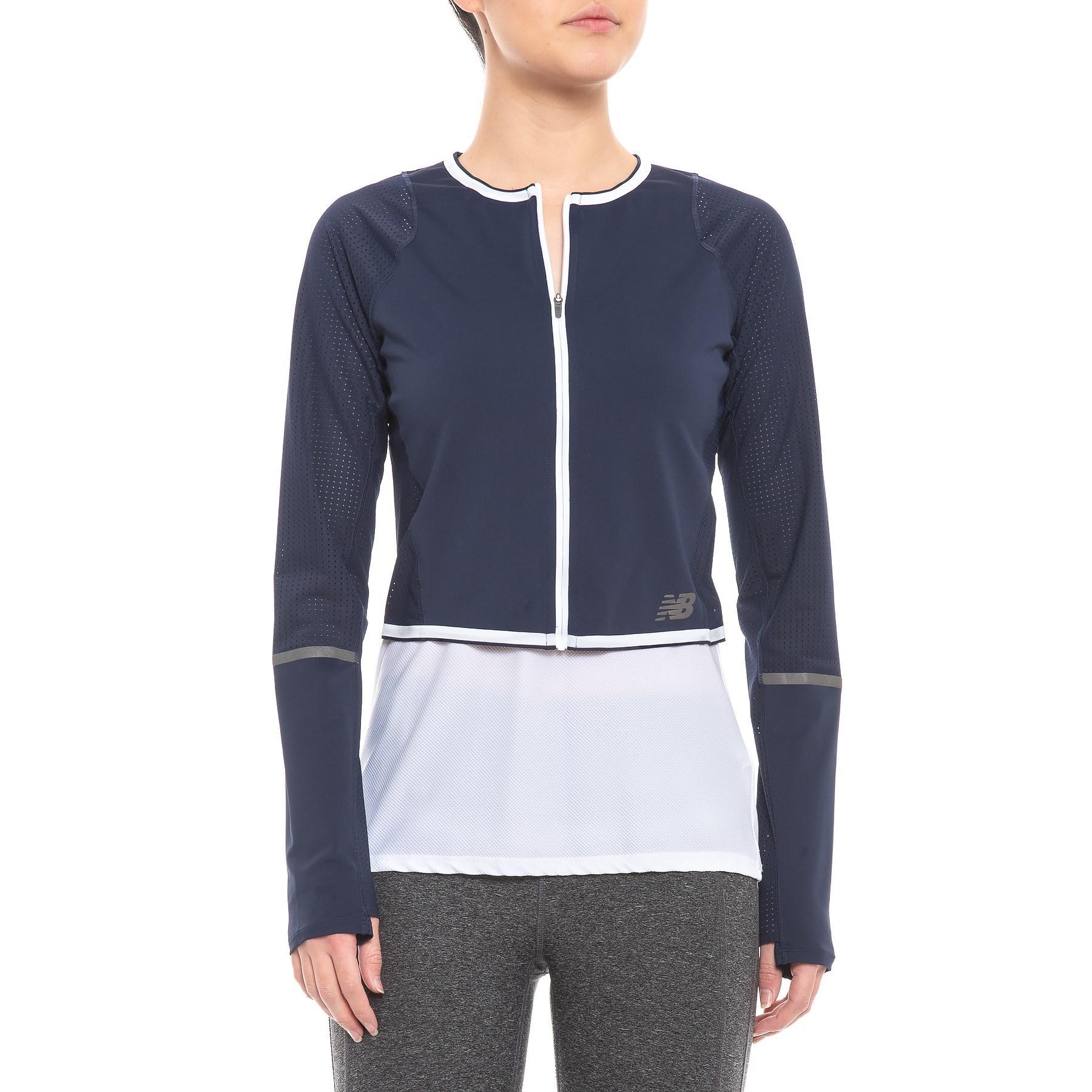 new balance running jacket women