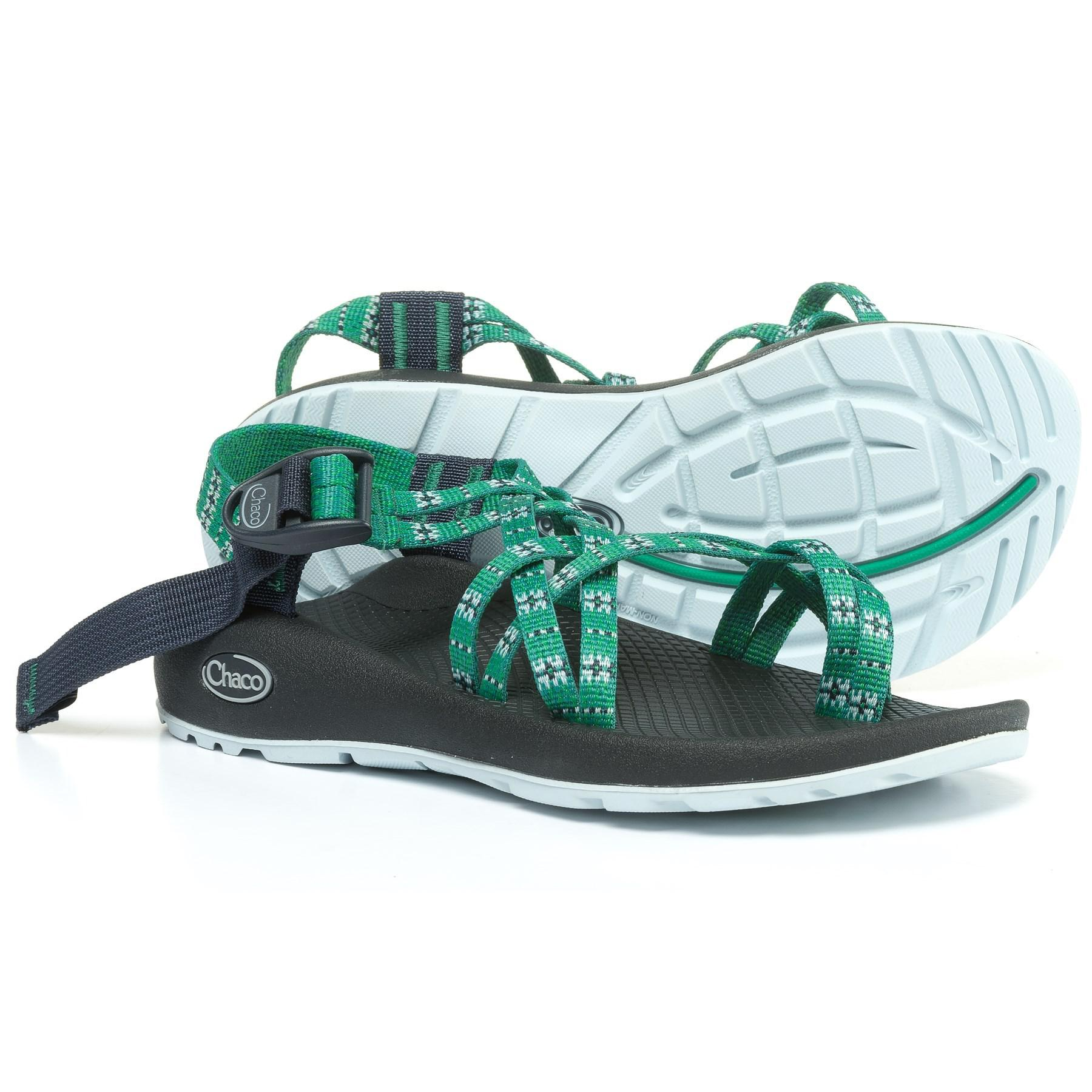 0728b38de620 Chaco - Green Zx 2® Classic Sport Sandals (for Women) - Lyst. View  fullscreen