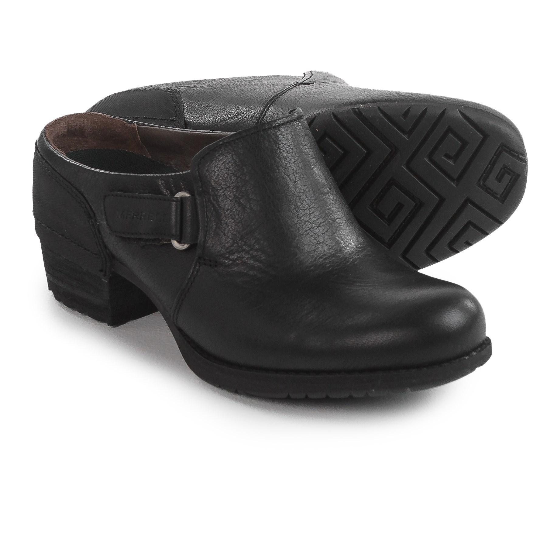 d2bd8c15 Merrell - Black Shiloh Slip-on Clogs - Lyst