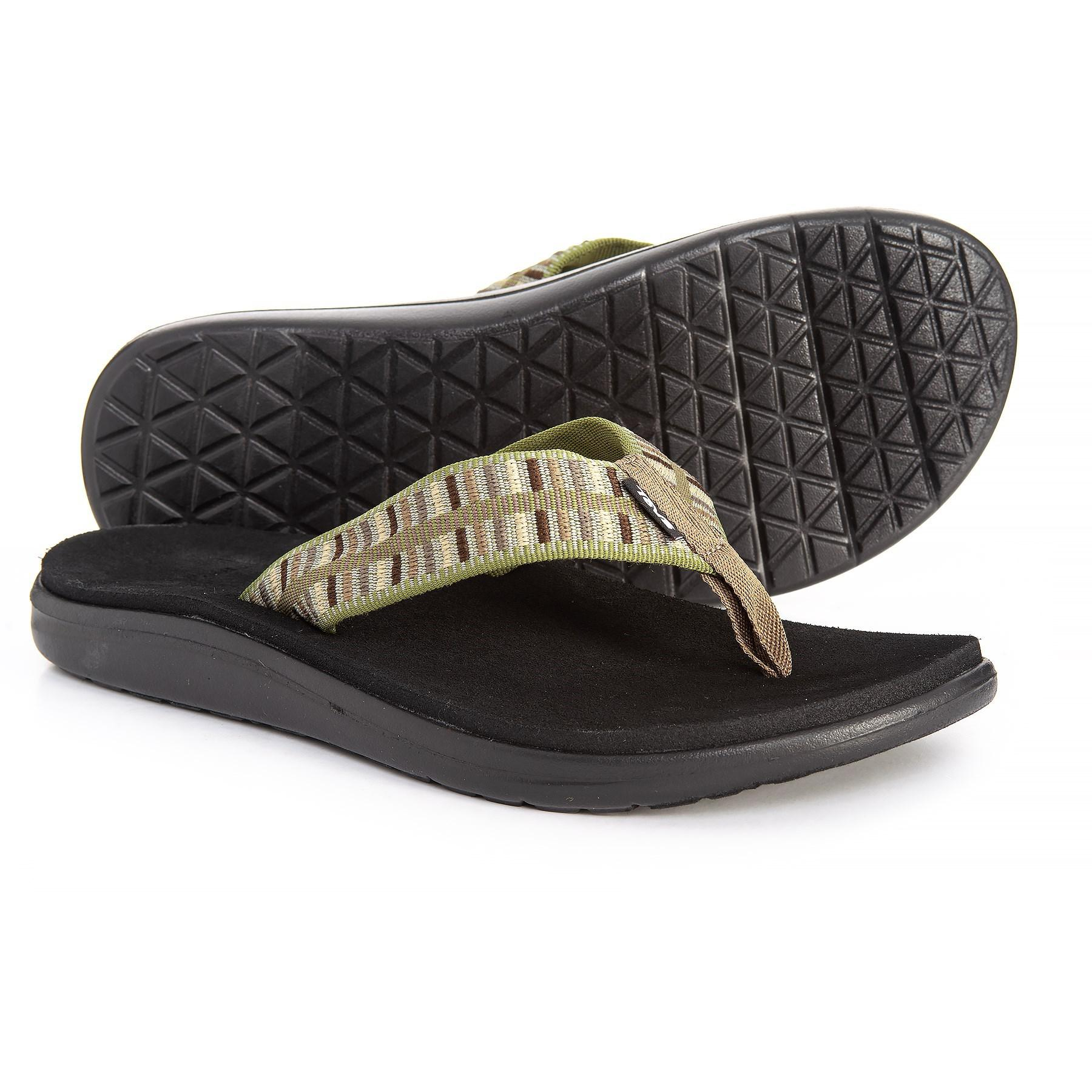 1419a16beef5 Lyst - Teva Voya Flip (brick Black) Men s Sandals for Men - Save ...