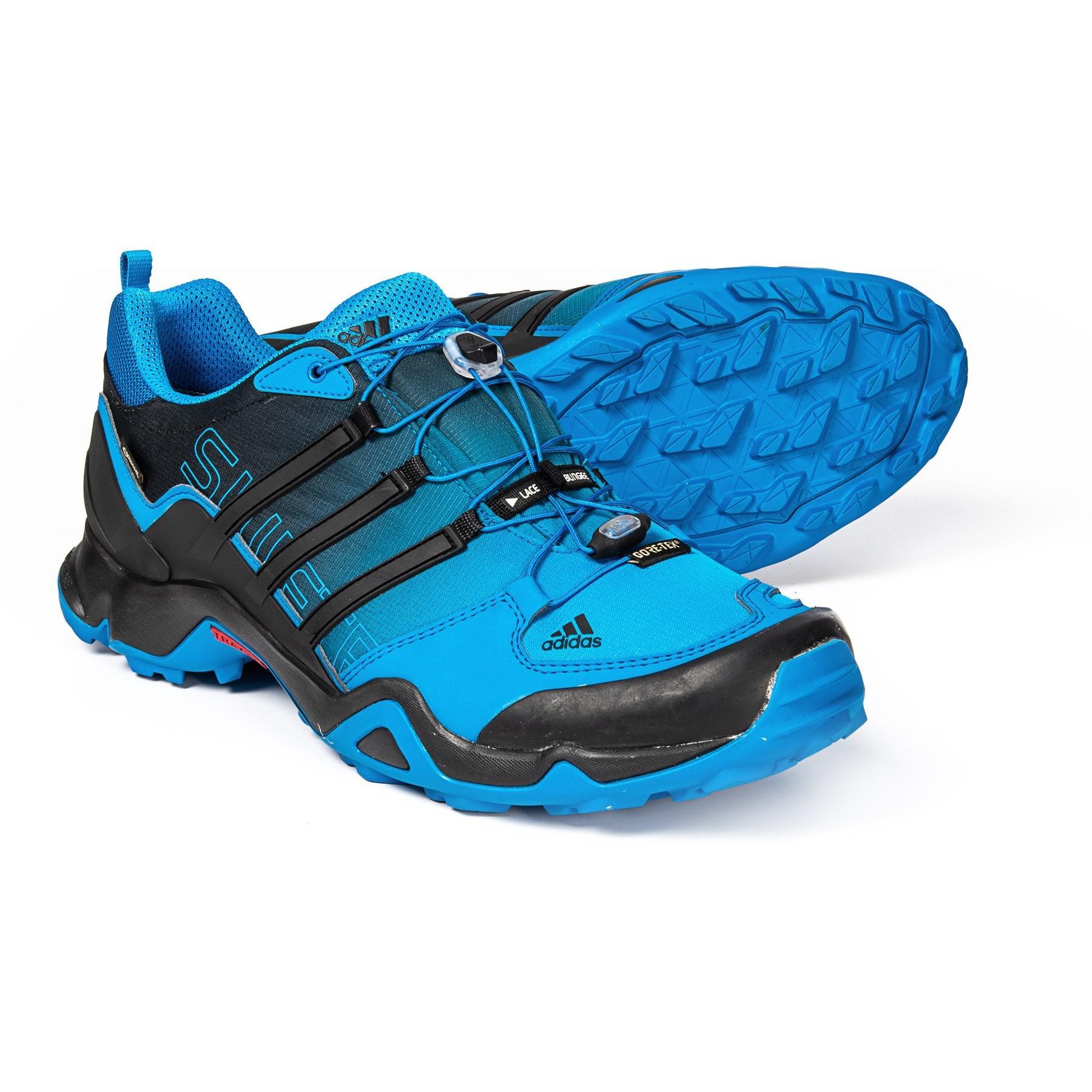 366cdb77e Adidas Blue Terrex Swift R Gore-tex® Xcr® Trail Running Shoes for men