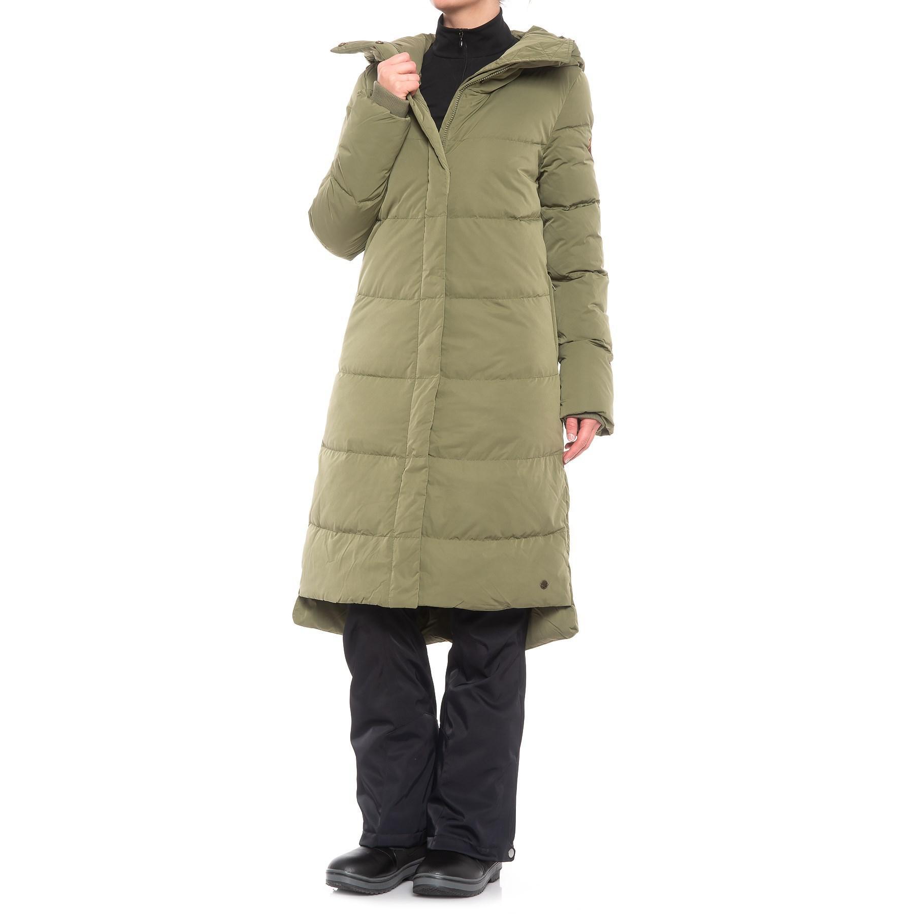 99c2184ca0c3 Lyst - O neill Sportswear Long Padded Down Jacket (for Women) in Green