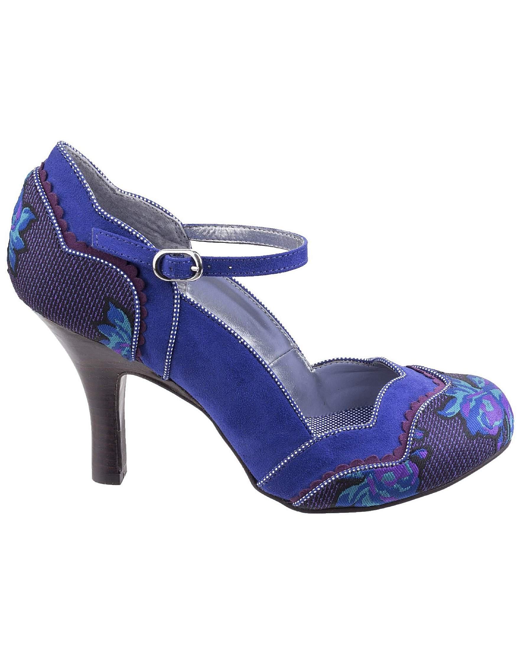 b089cfbd52db Ruby Shoo Imogen Stiletto Court Shoe in Blue - Lyst