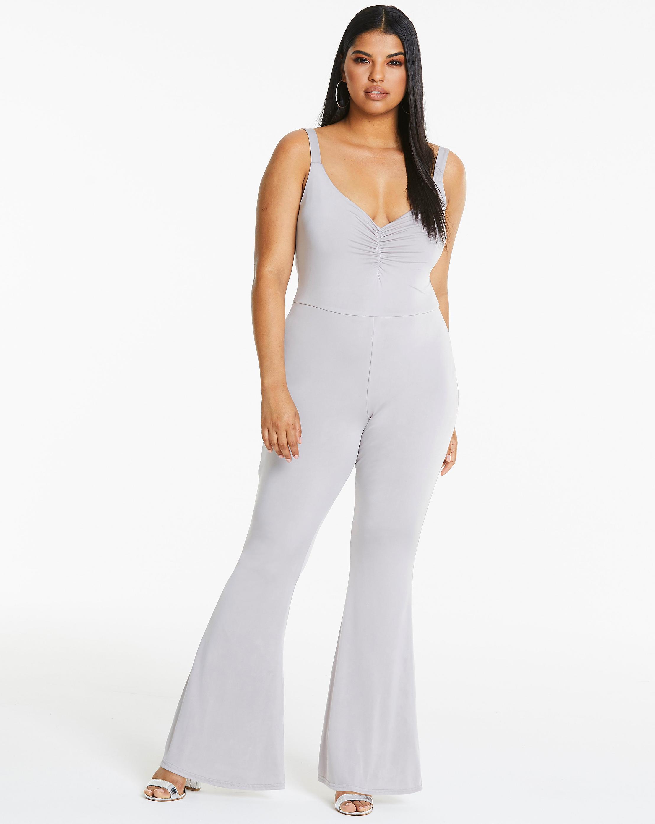 c237552e1ea8 Lyst simply be slinky jumpsuit in metallic jpg 2217x2786 Slinky jumpsuit