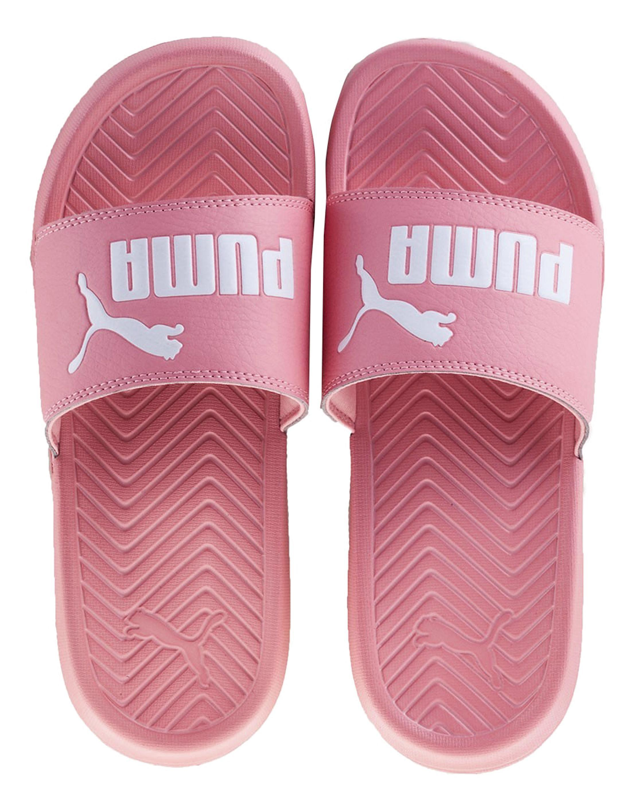 ff27bc26ea46 Lyst - Simply Be Puma Popcat Sliders in Pink