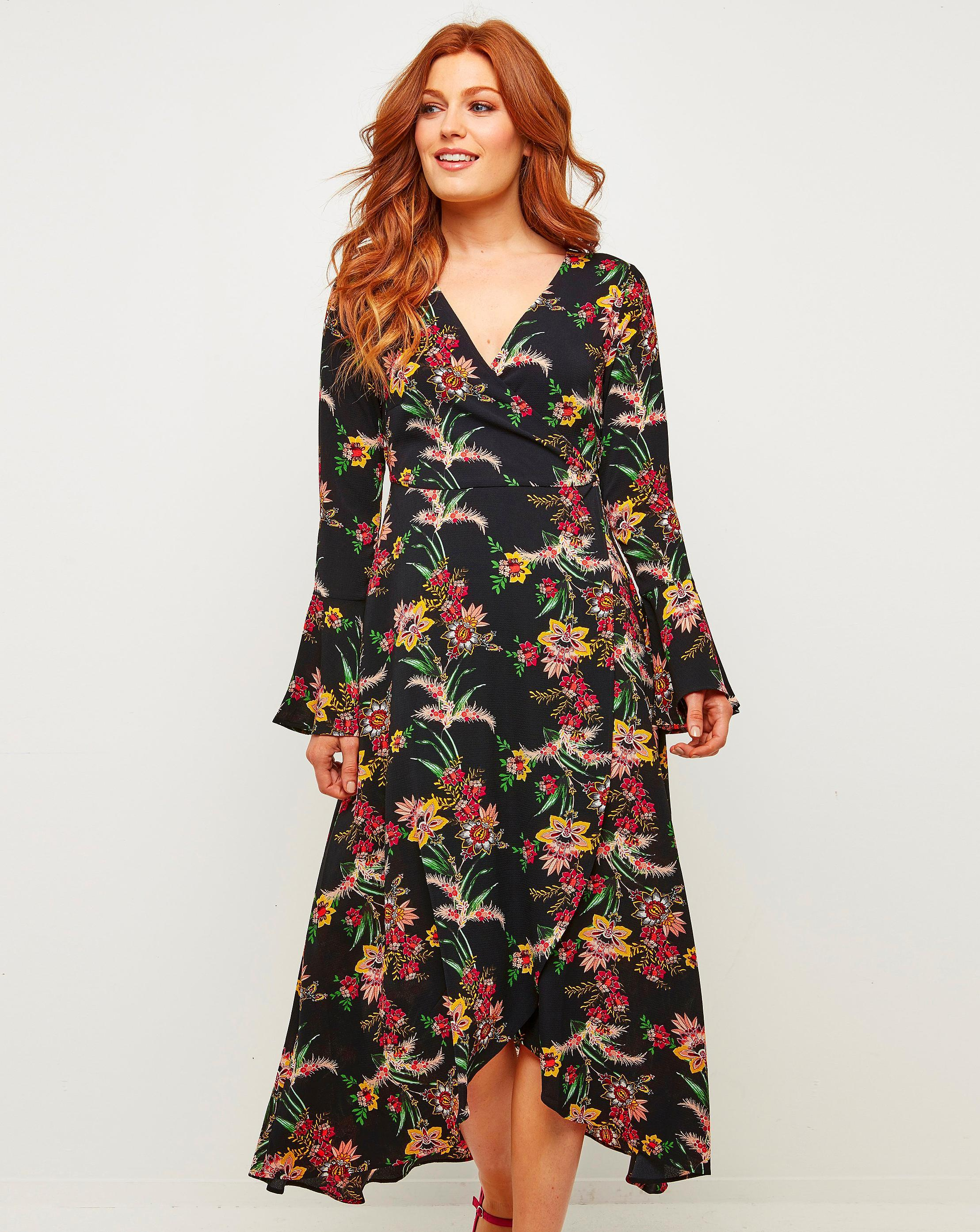 0cf5bec9323 Lyst - Simply Be Joe Browns Something About It Maxi Dress in Black