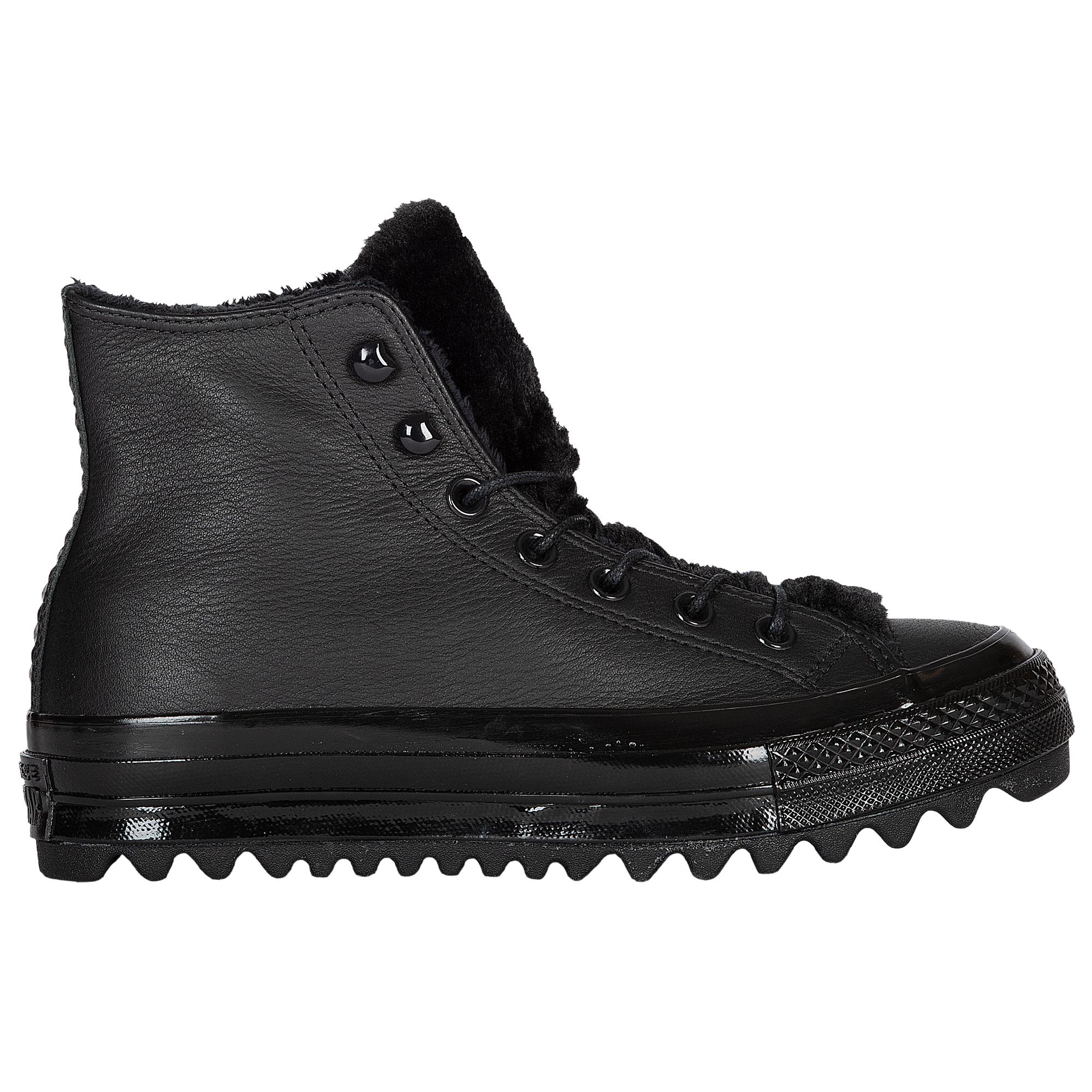7781d5581bc4 Lyst - Converse All Star Life Ripple in Black
