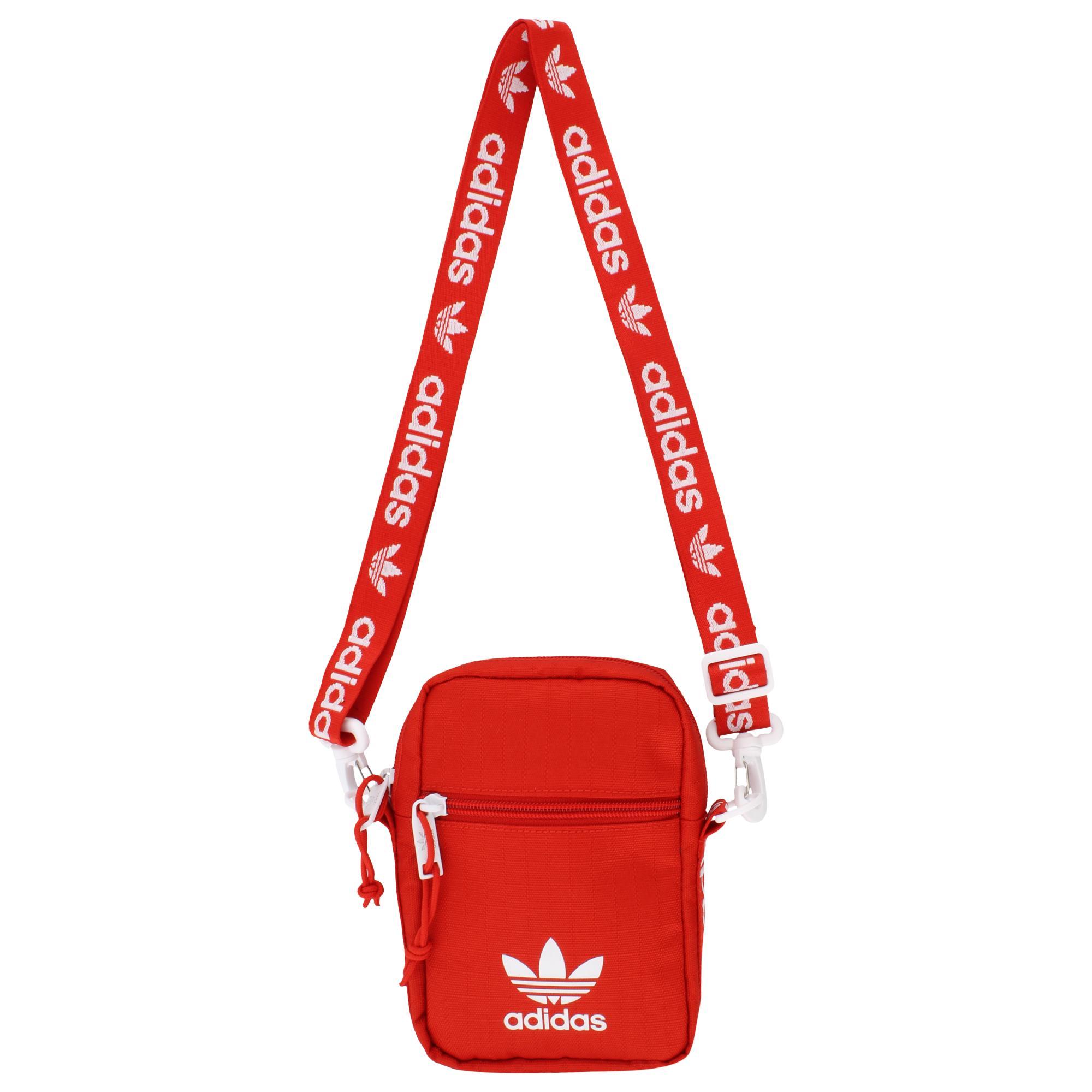 46c91f66f5 Lyst - adidas Originals Shoulder Strap Festival Bag in Red