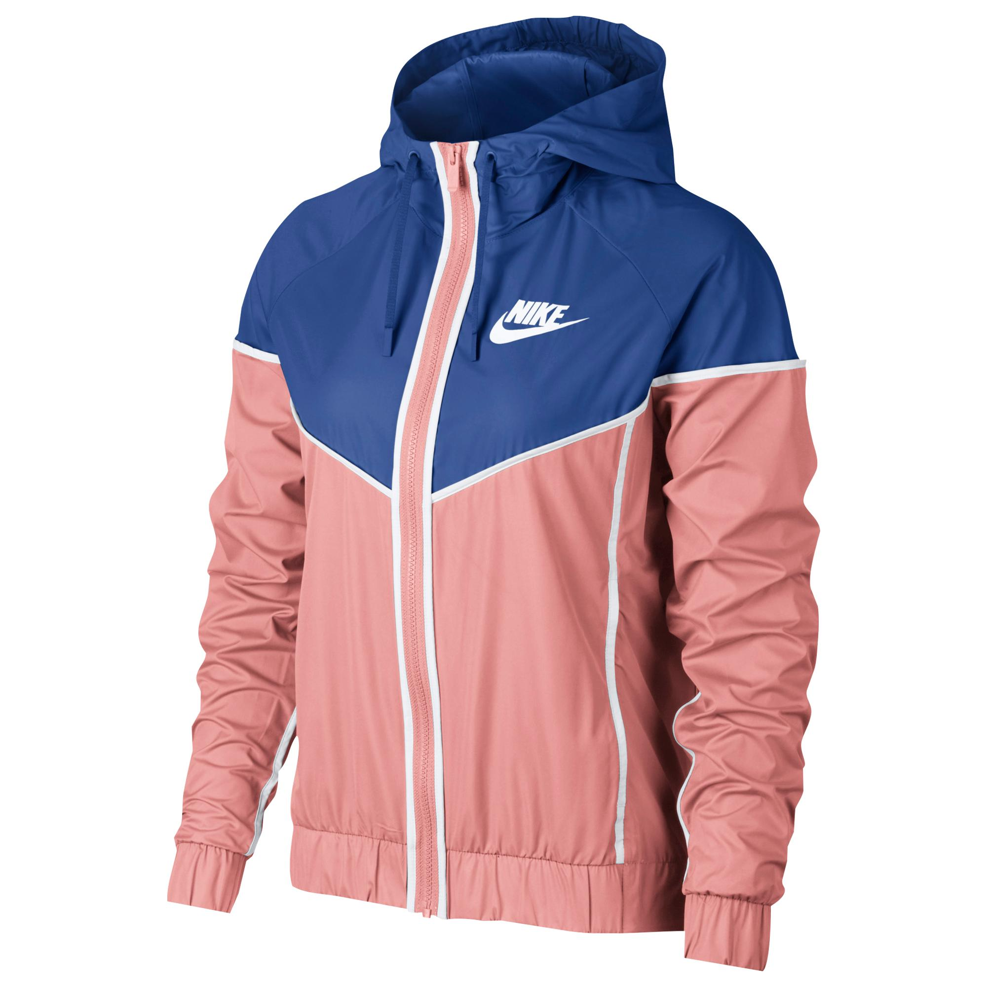 6562d5e29952 Lyst - Nike Sportswear Windrunner Women s Jacket in Blue - Save 31%