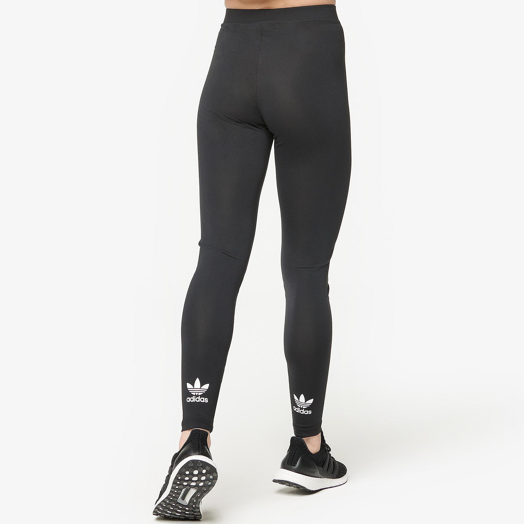 78629a21d71 Adidas Originals - Black Adicolor Trefoil Leggings - Lyst. View fullscreen