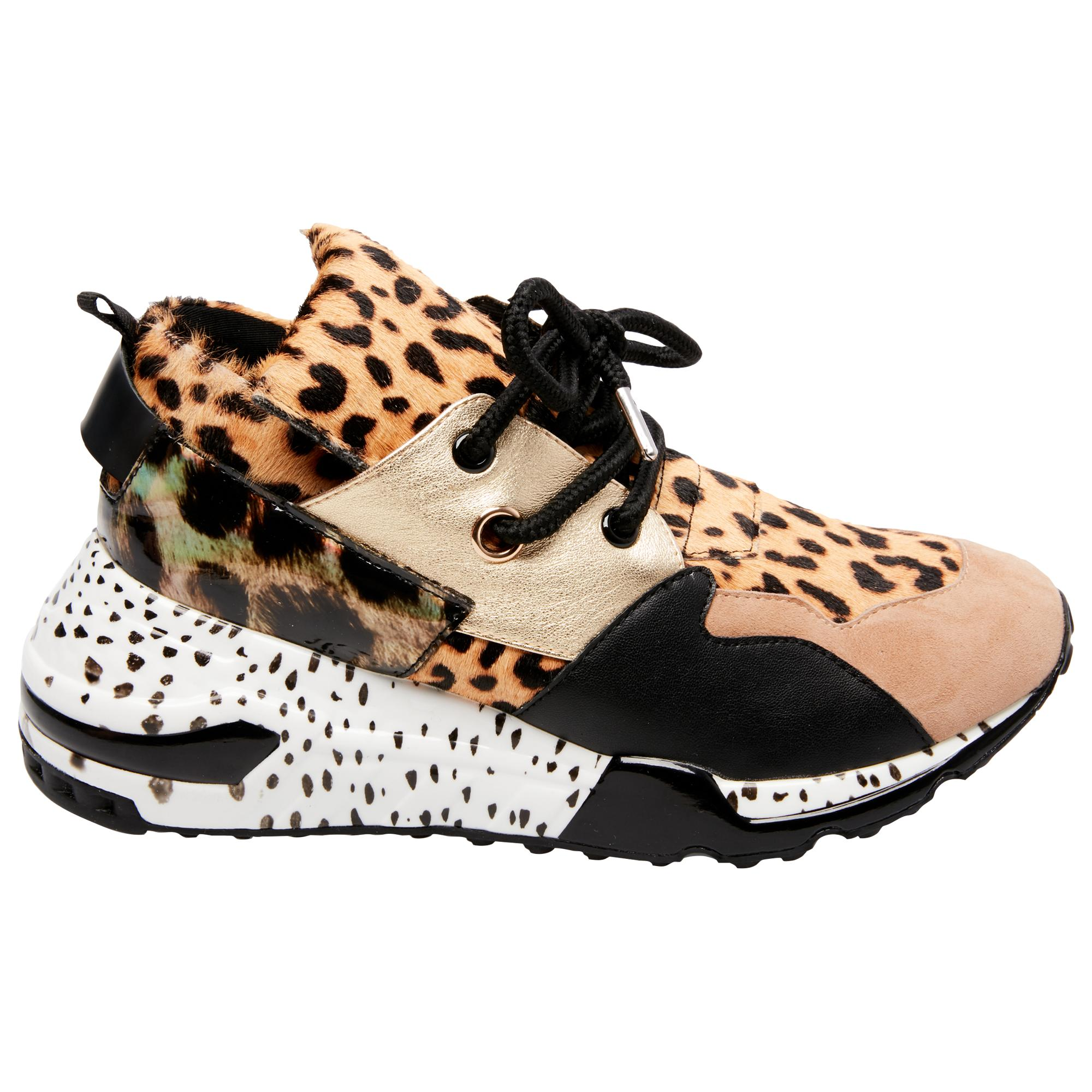 b406a76a505 Lyst - Steve Madden Cliff Animal Womens Shoes - Save 1%