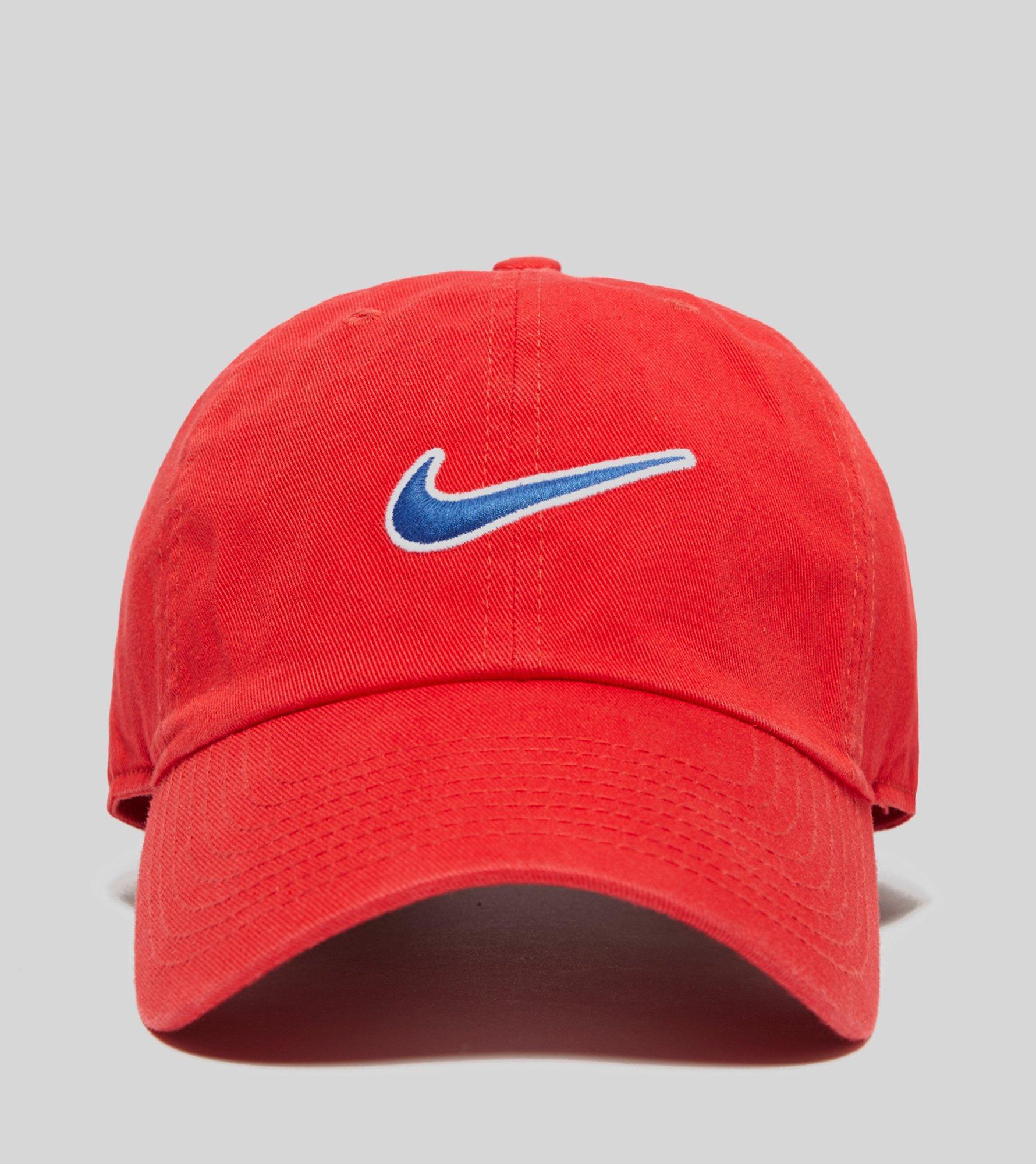 1f2e20b7f82 Lyst - Nike H86 Swoosh Cap in Red for Men