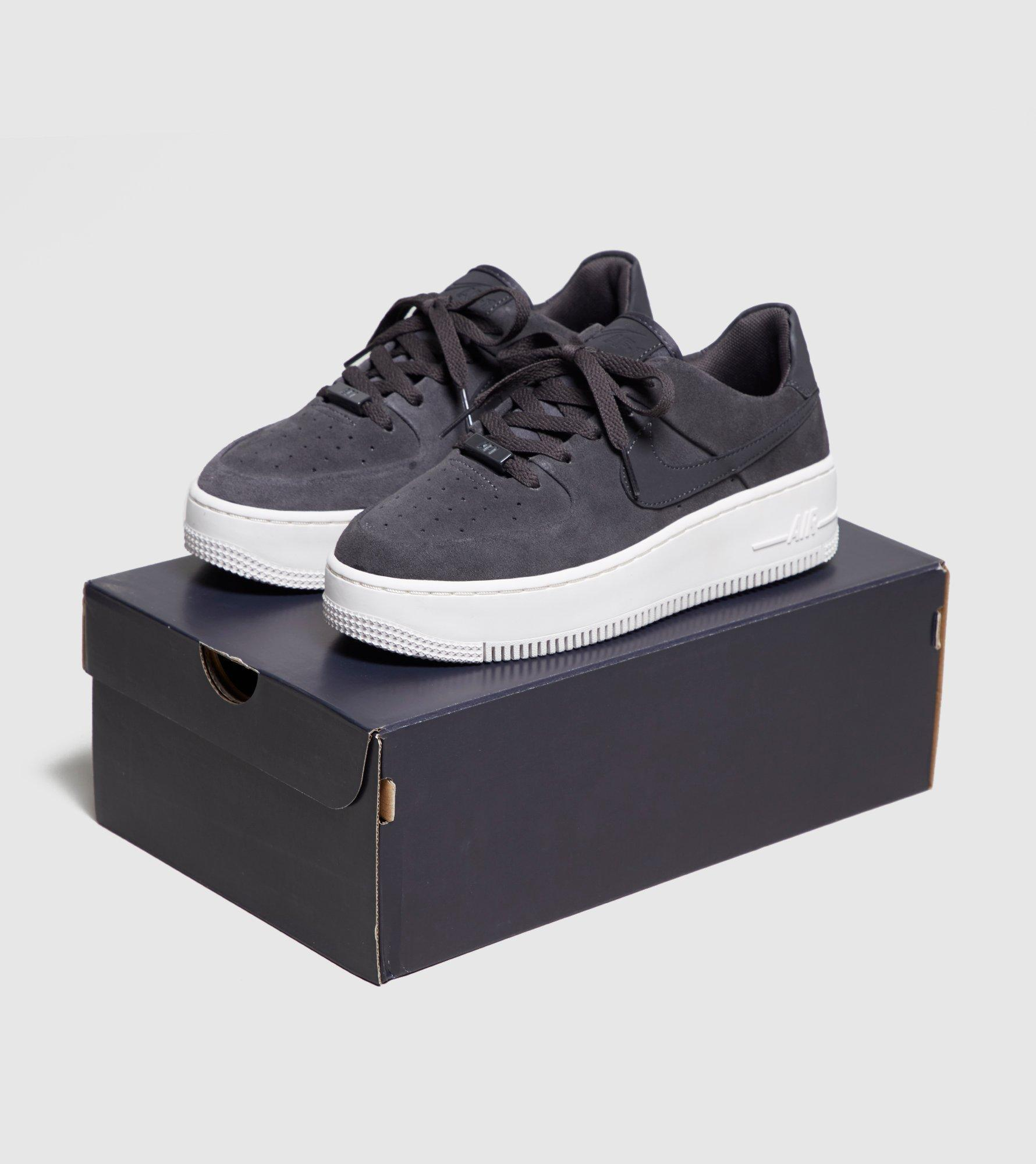 dd6f6c12510 Nike Air Force 1 Sage Low Women s in Gray - Lyst