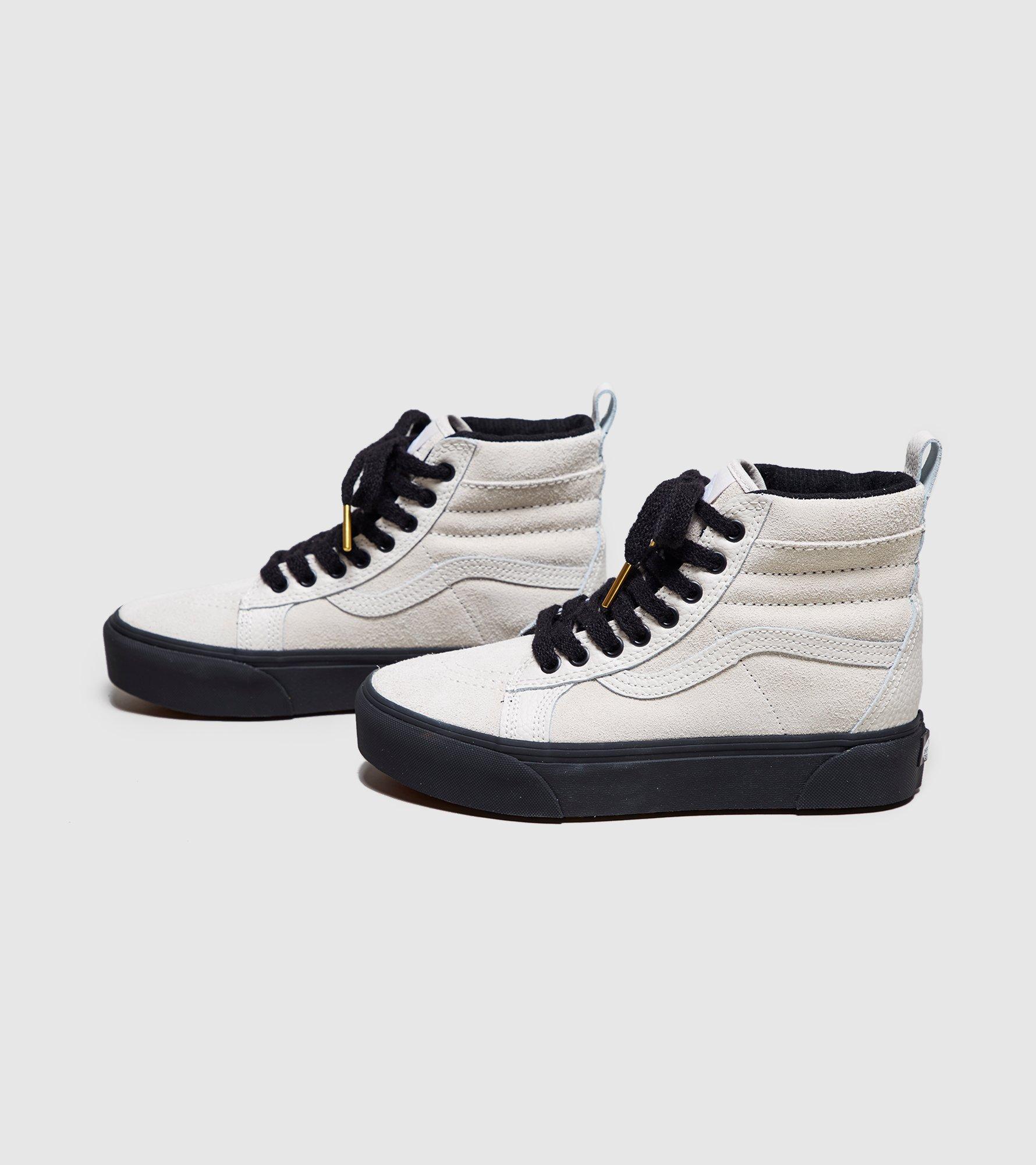 2vans white sk8 plataform
