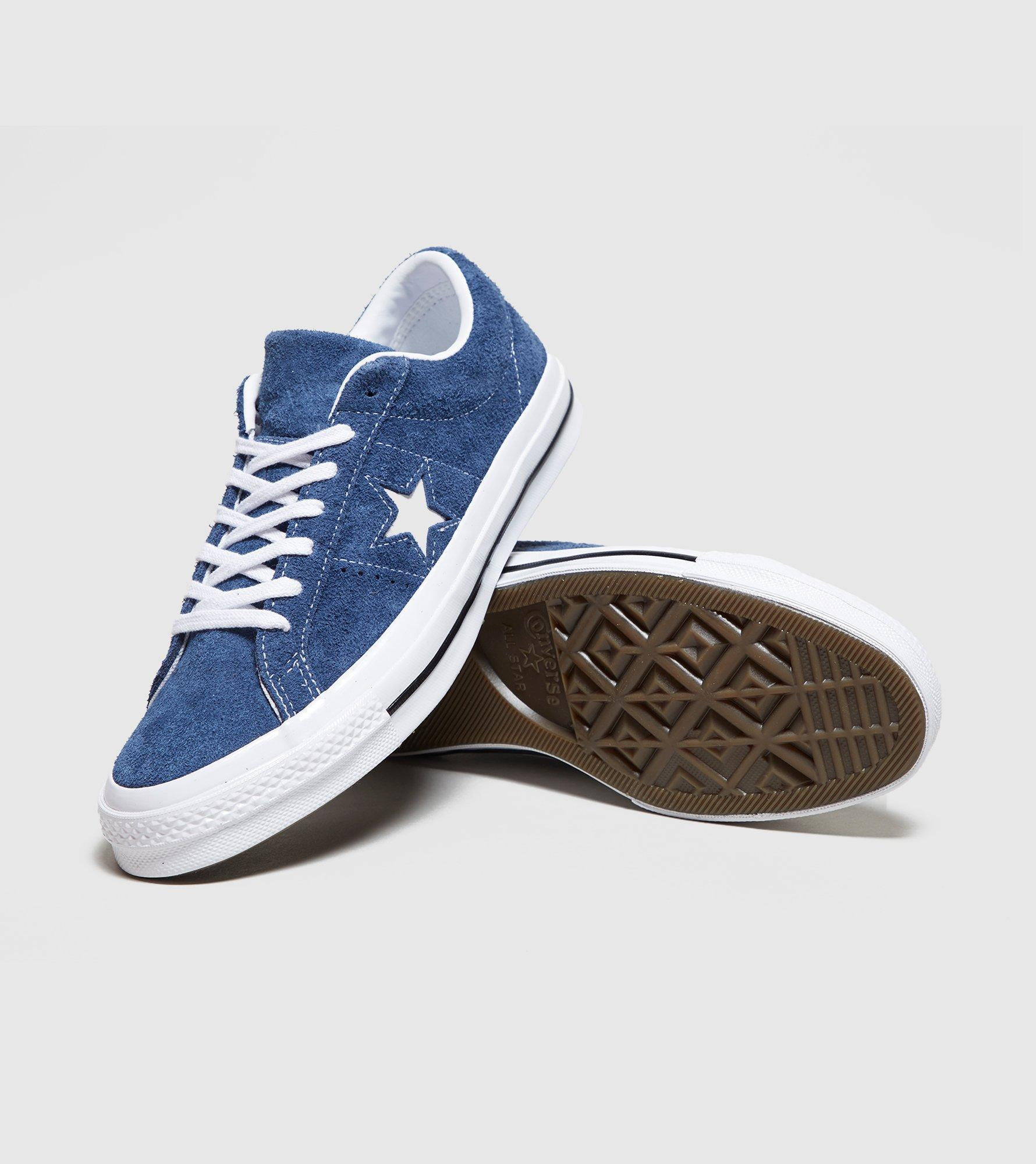 46f2a712673 Converse One Star Suede in Blue for Men - Lyst