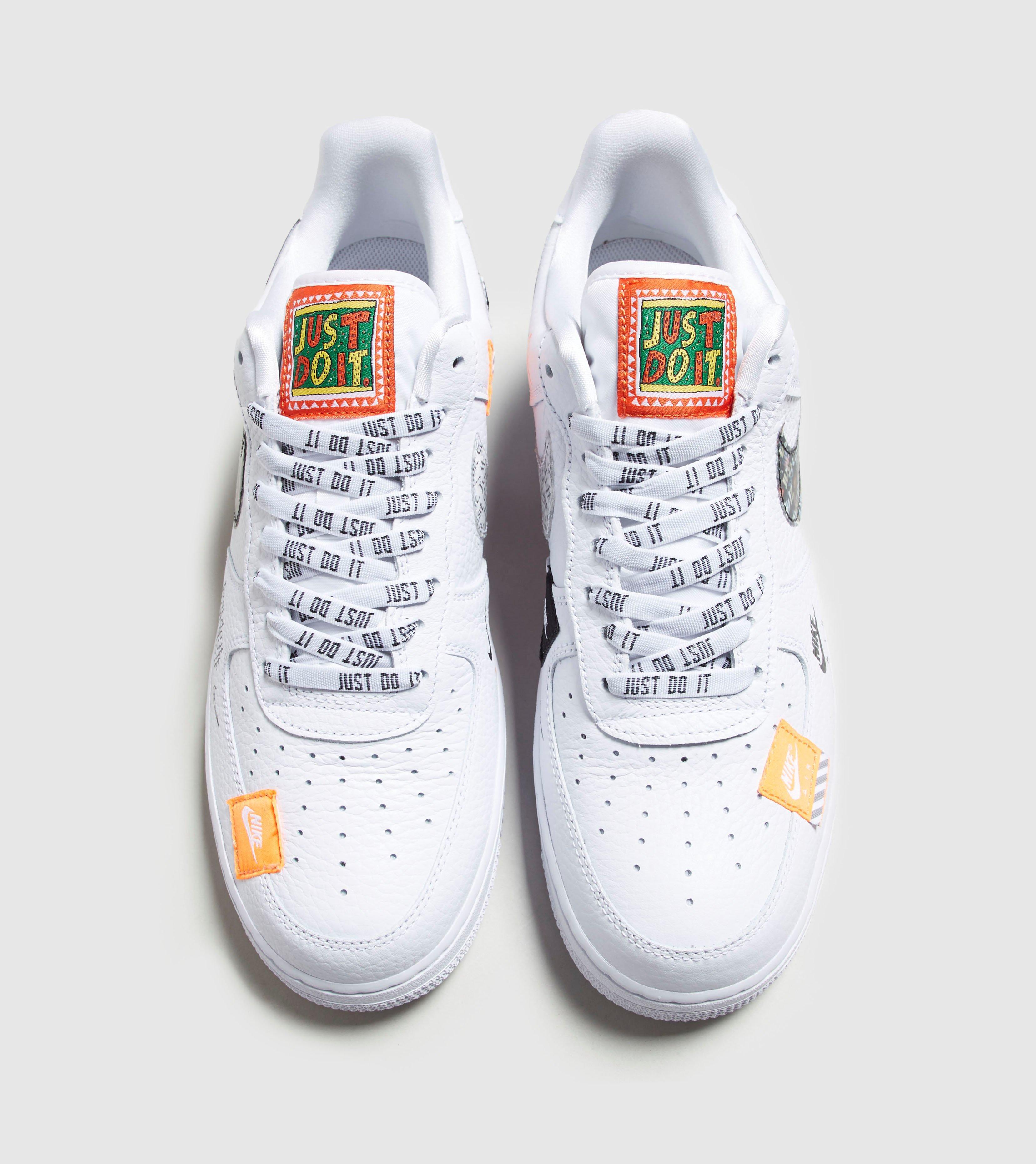 fdbc69d78c48 Lyst - Nike Air Force 1  07 Premium  just Do It  in White for Men