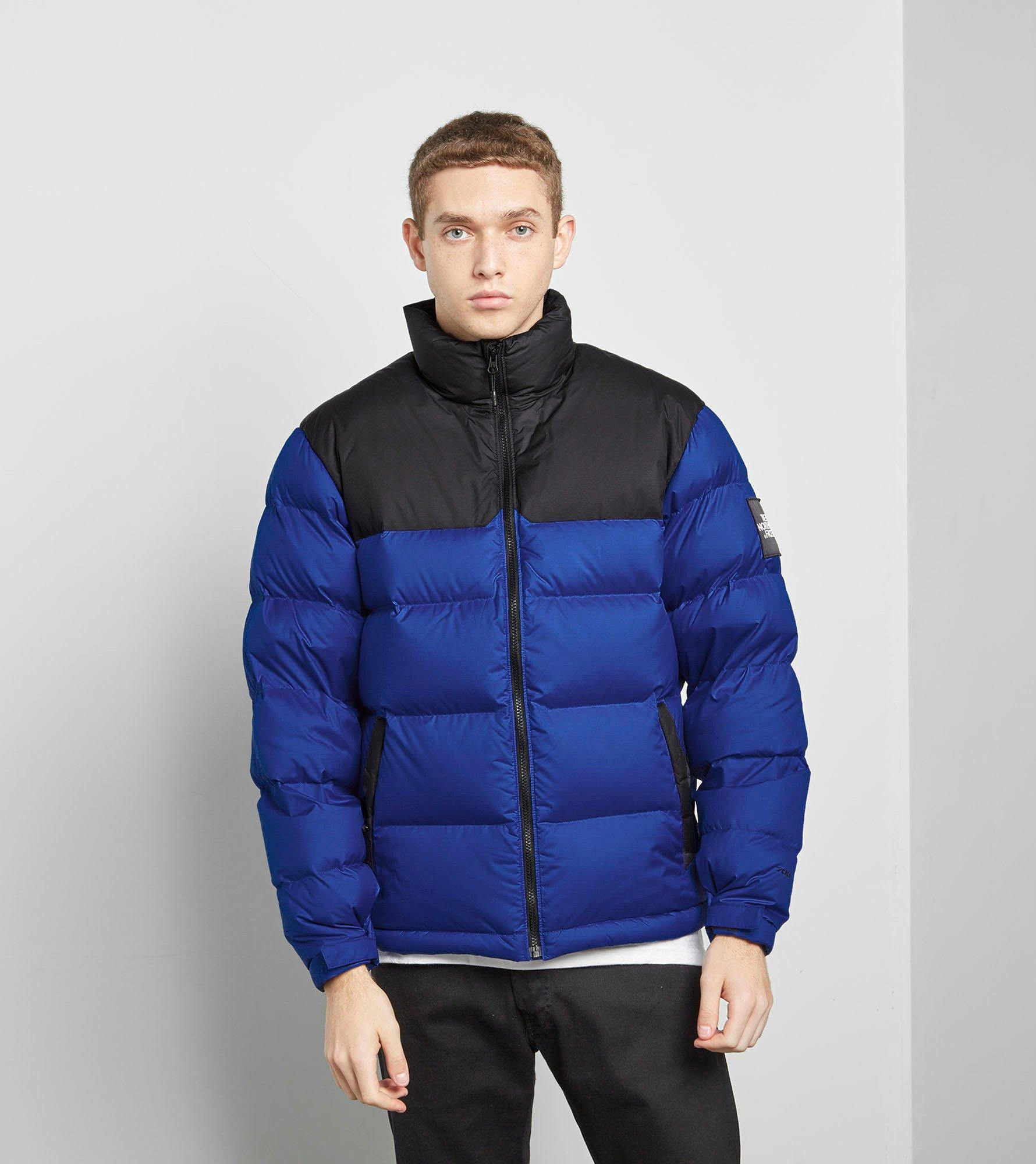 the north face 1992 nuptse jacket in blue for men lyst. Black Bedroom Furniture Sets. Home Design Ideas