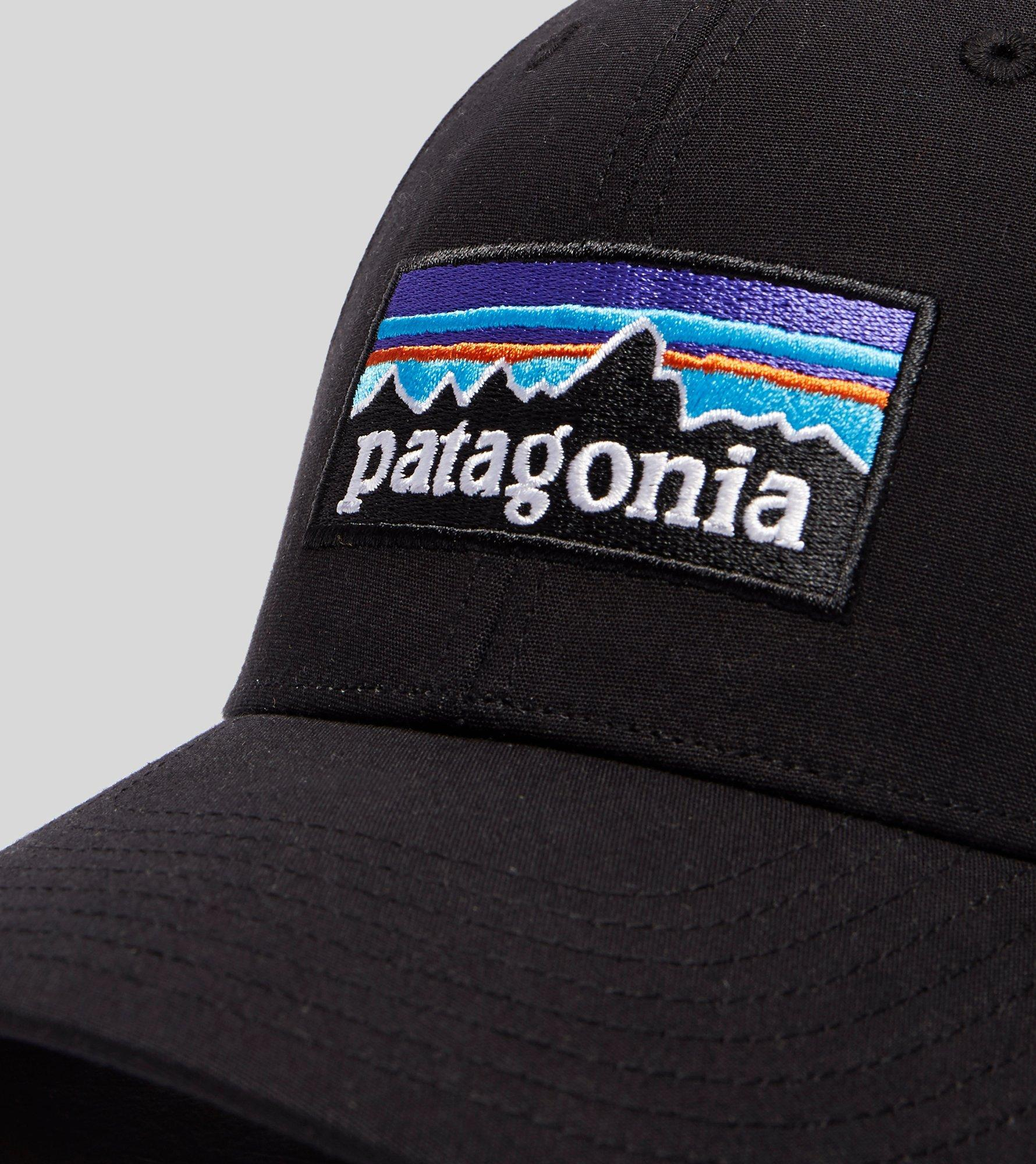 Lyst - Patagonia P-6 Stretch Fitted Cap in Black for Men 3e90bac618db
