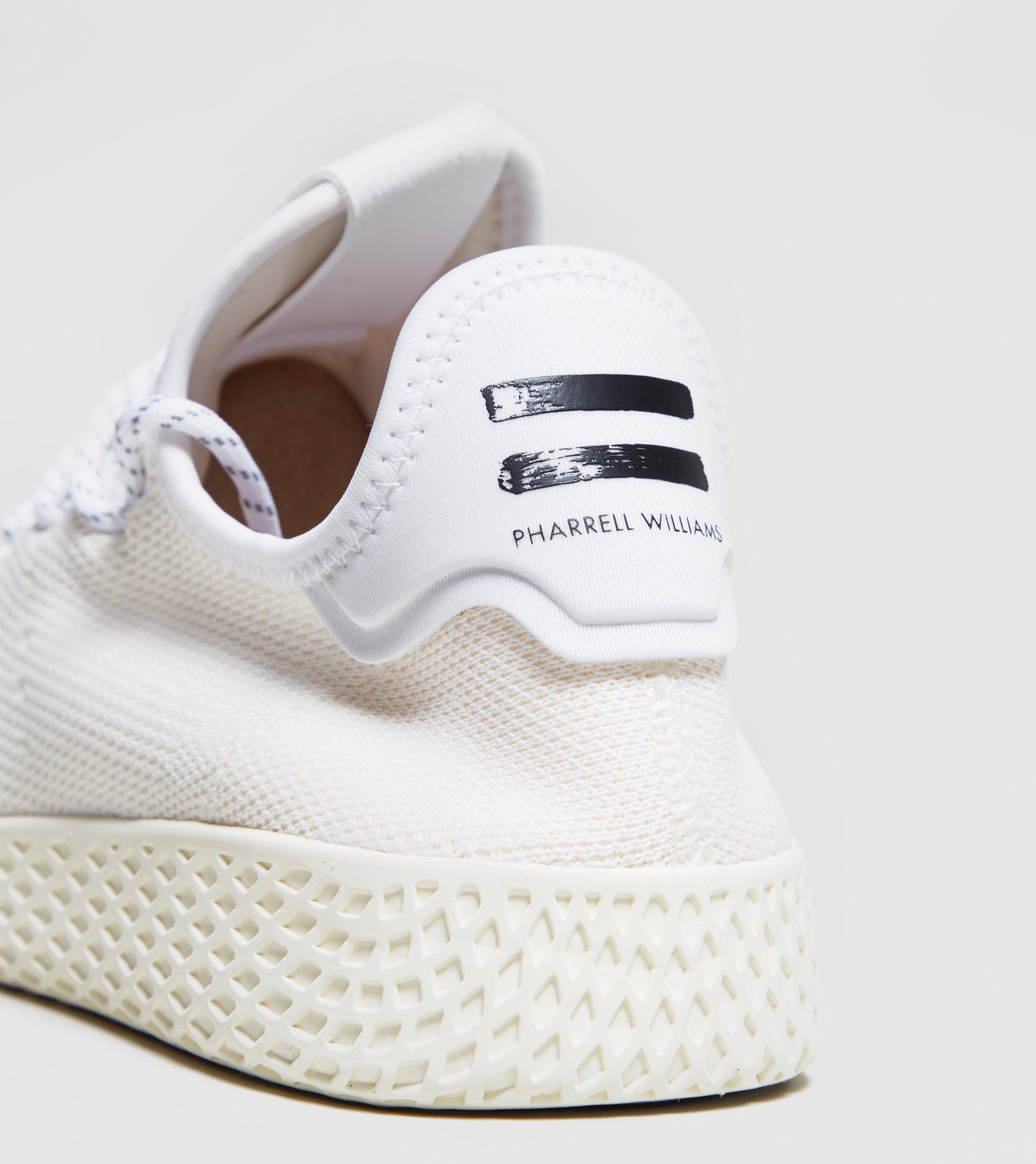 Adidas Originals - White X Pharrell Williams Hu Holi Tennis Hu for Men -  Lyst. View fullscreen 3088a2ec5