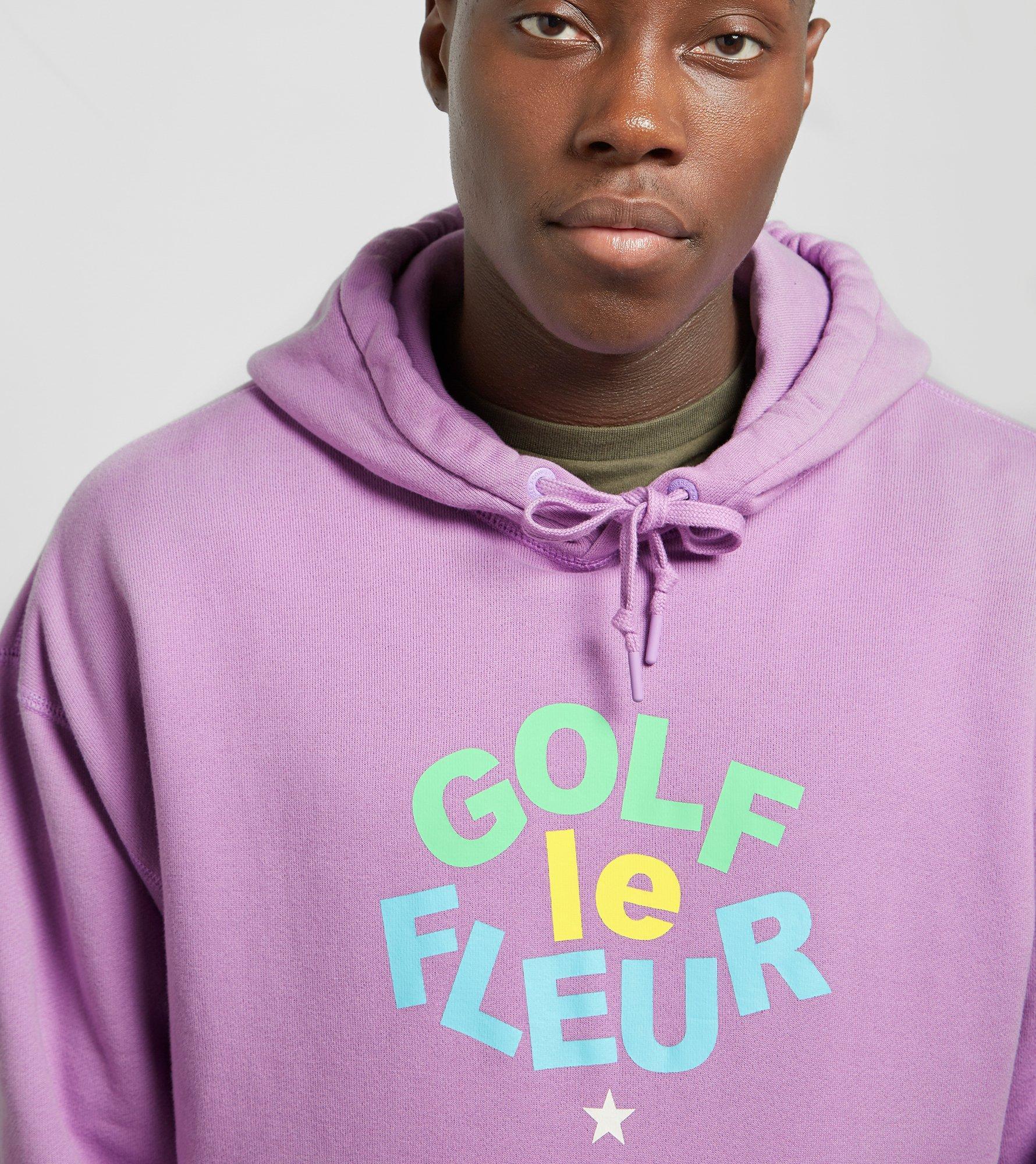 converse golf le fleur hoodie in pink for men