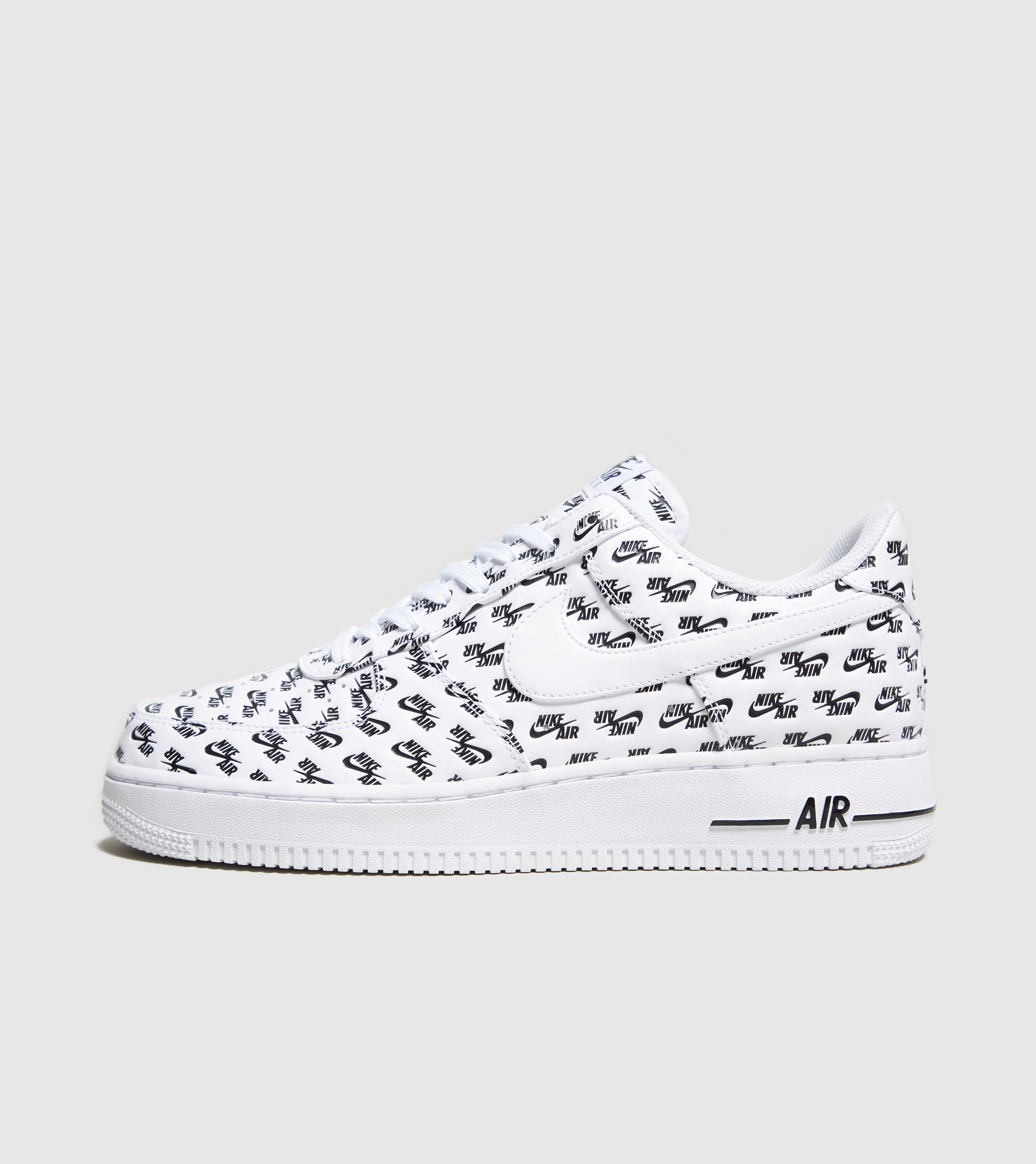 Nike Leather Air Force 1 Script In White For Men Lyst