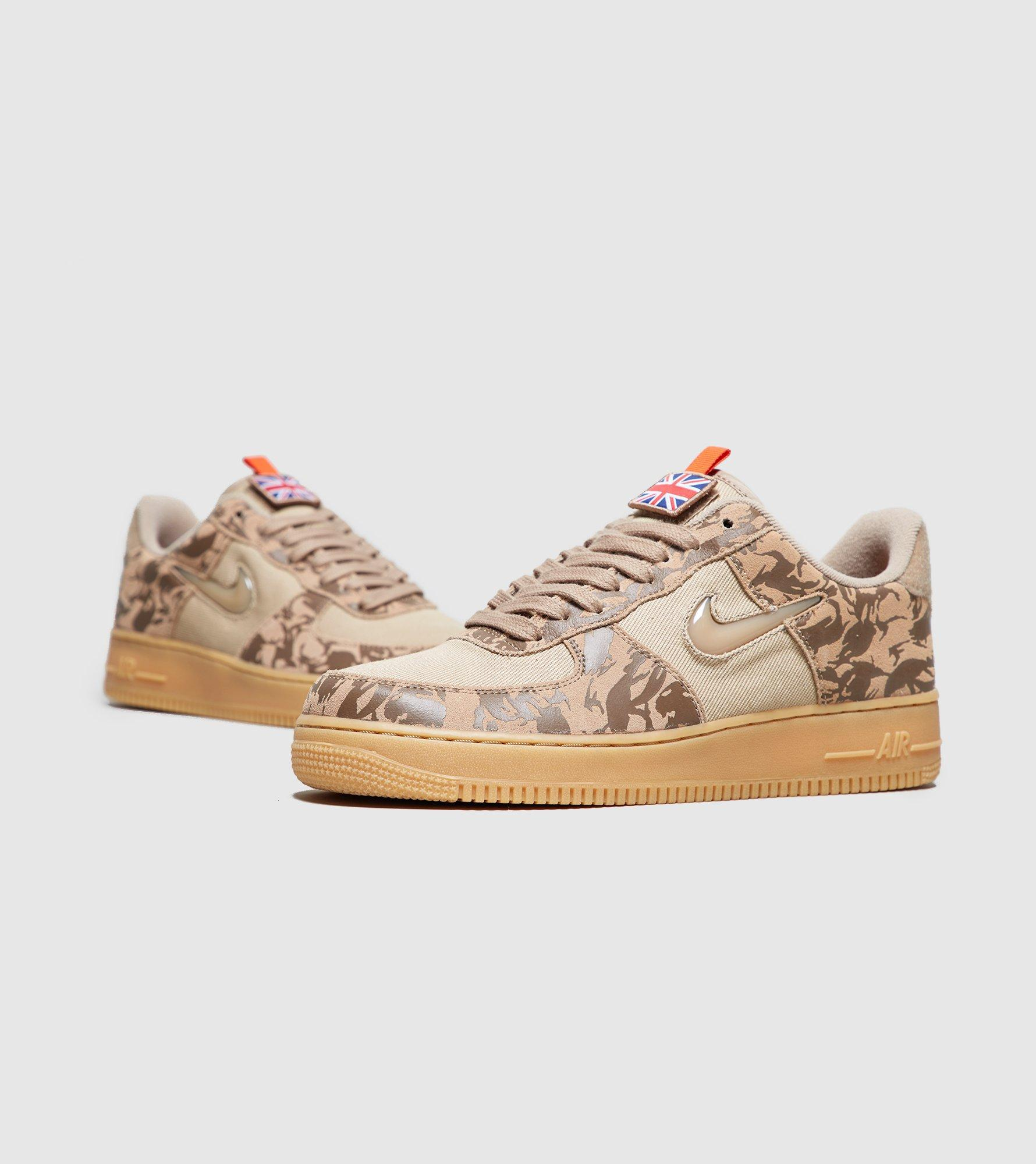 purchase cheap e3392 1a453 Nike Air Force 1 Jewel Low Camo uk in Green for Men - Lyst