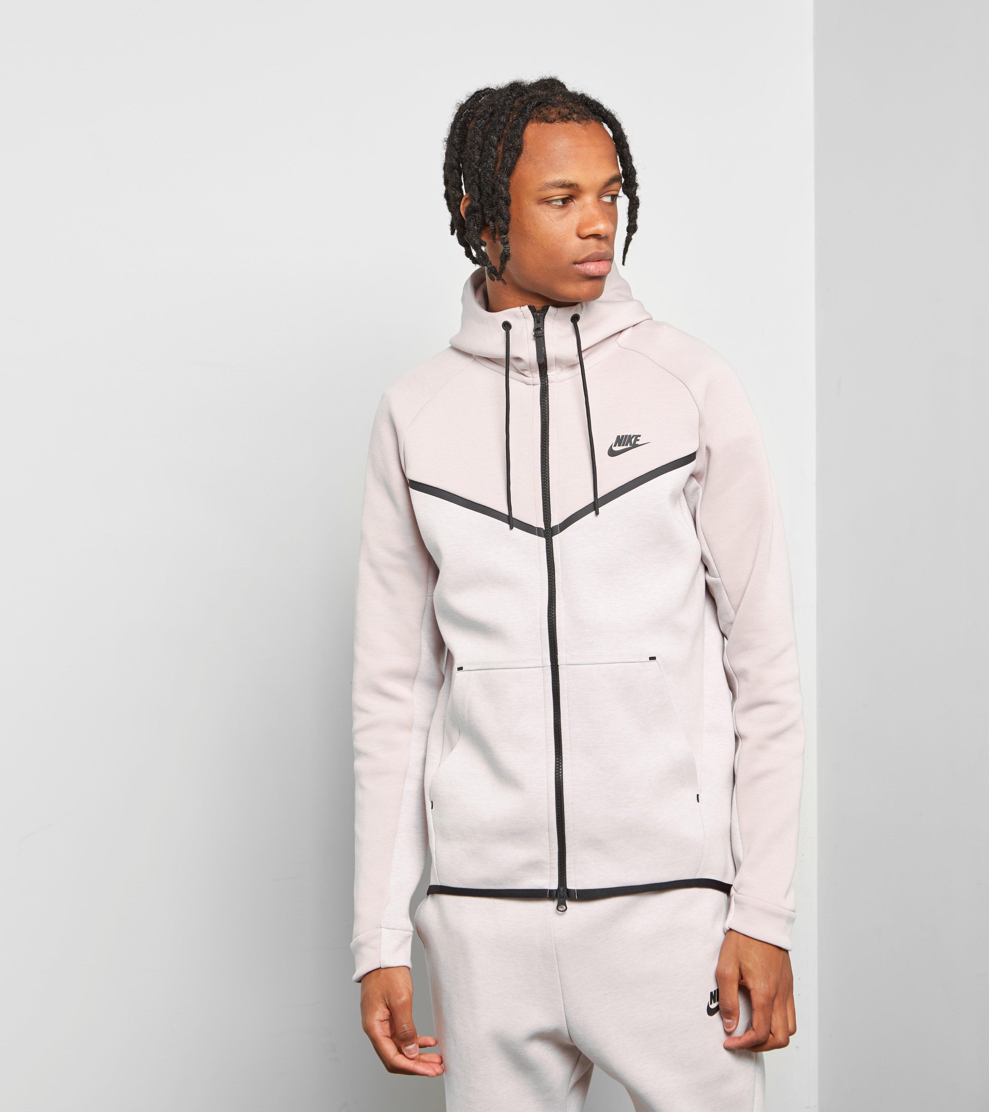 bf2b55e257072 Nike Tech Fleece Windrunner Hoody in Pink for Men - Lyst