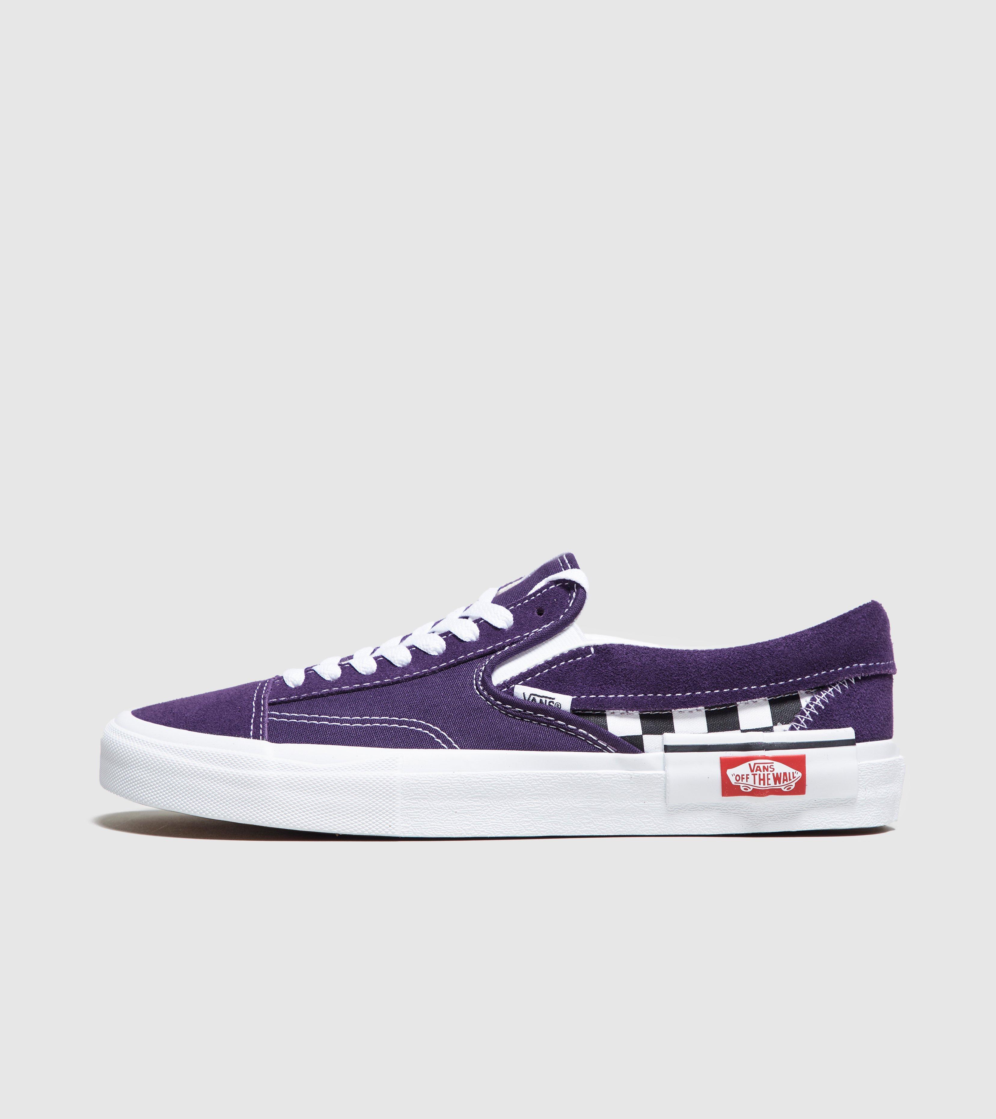 9562f92fa50 Lyst - Vans Slip-on Cap Checkerboard In Mysterioso in Purple for Men ...