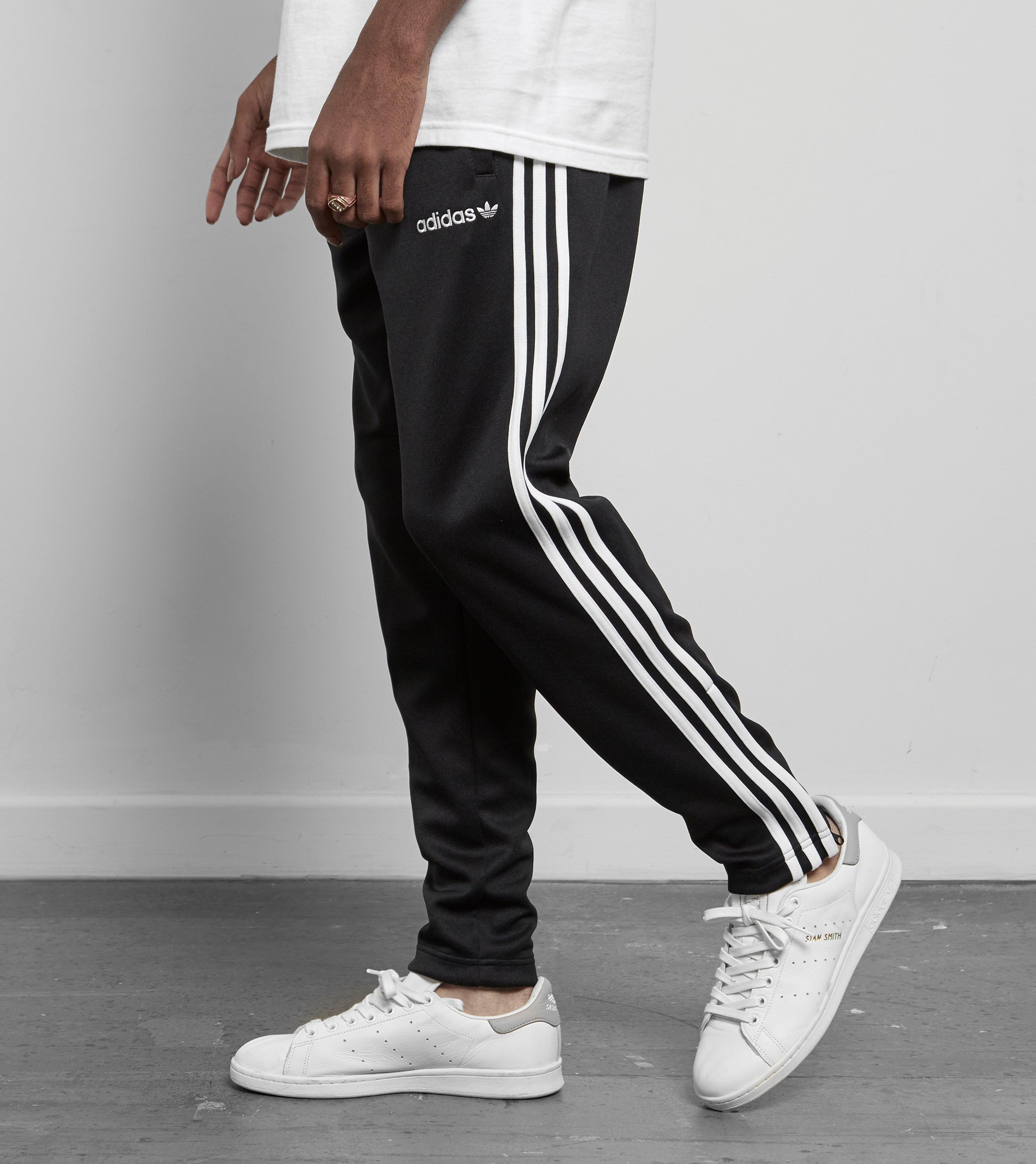 Adidas Originals Black Superstar Taper Track