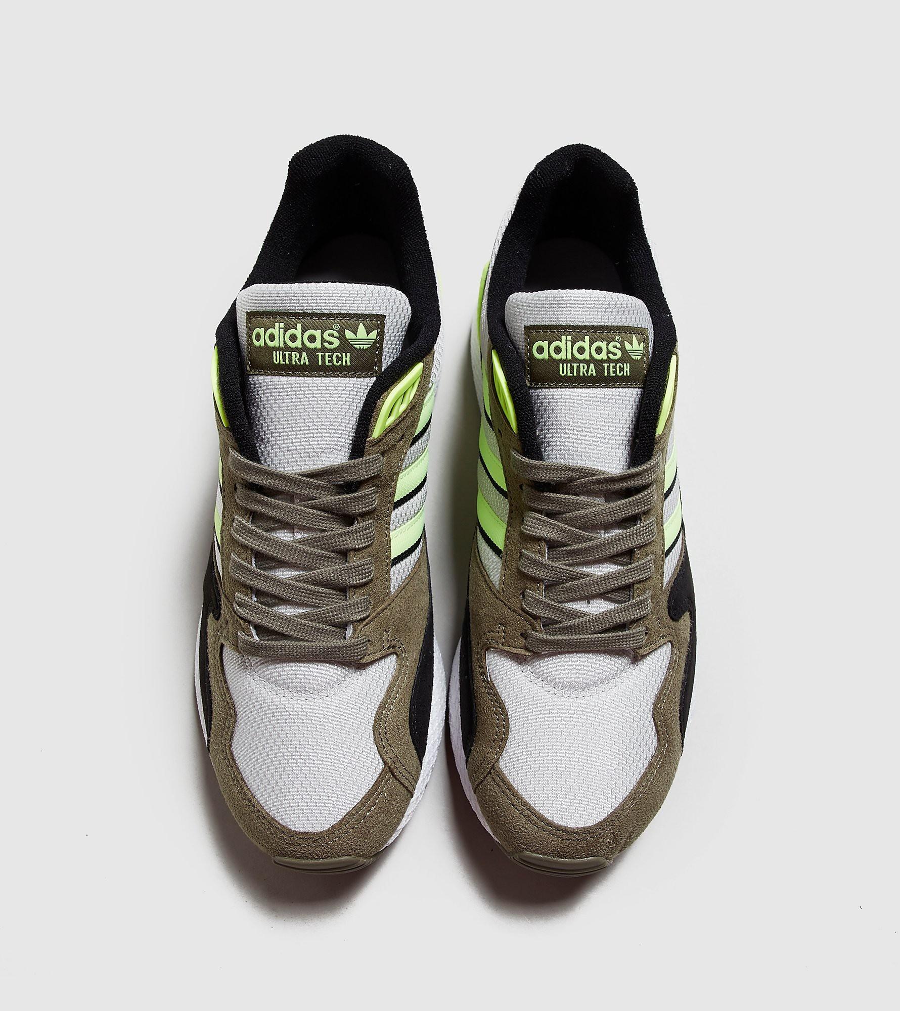 Adidas Ultra Tech Raw White/ Hi-Res Yellow/ Raw Khaki adidas Originals de hombre